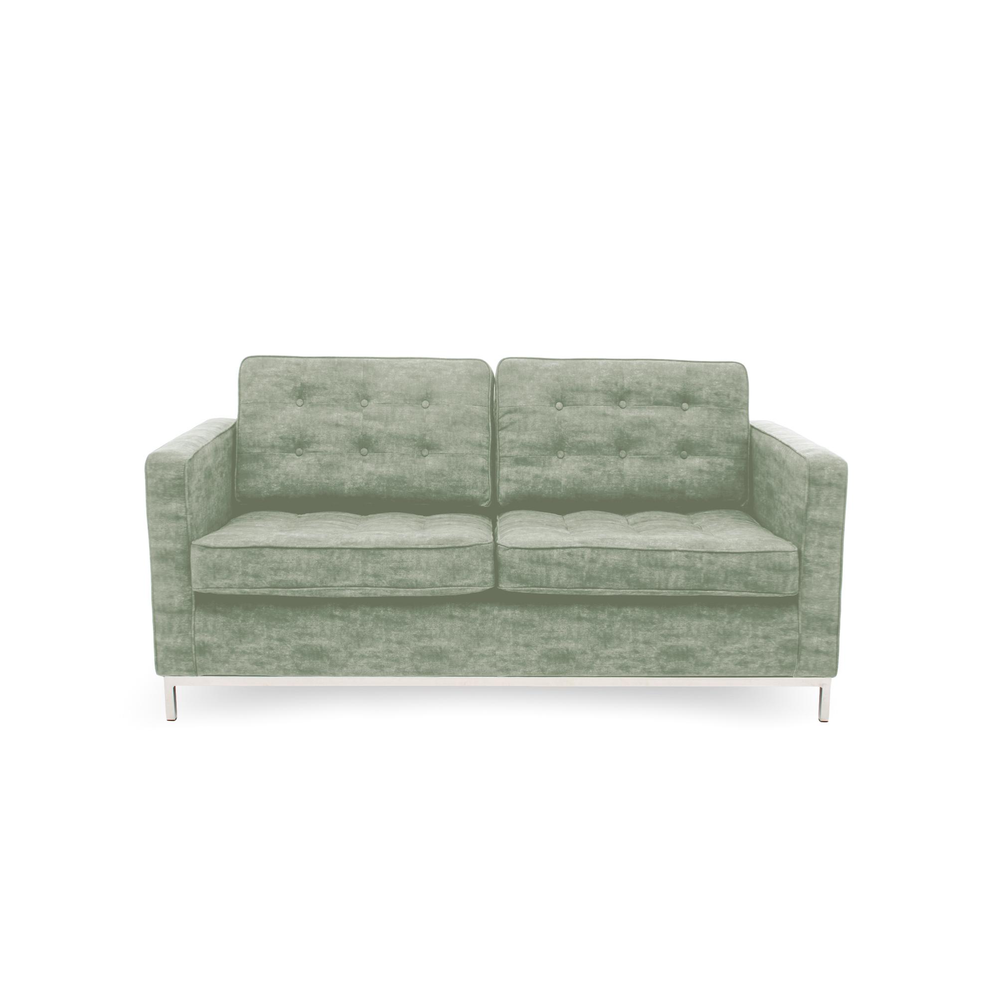 Canapea Fixa 2 locuri Ben Khaki