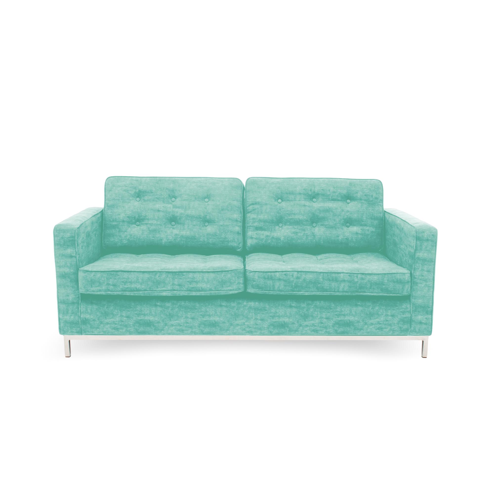 Canapea Fixa 3 locuri Ben Turquoise
