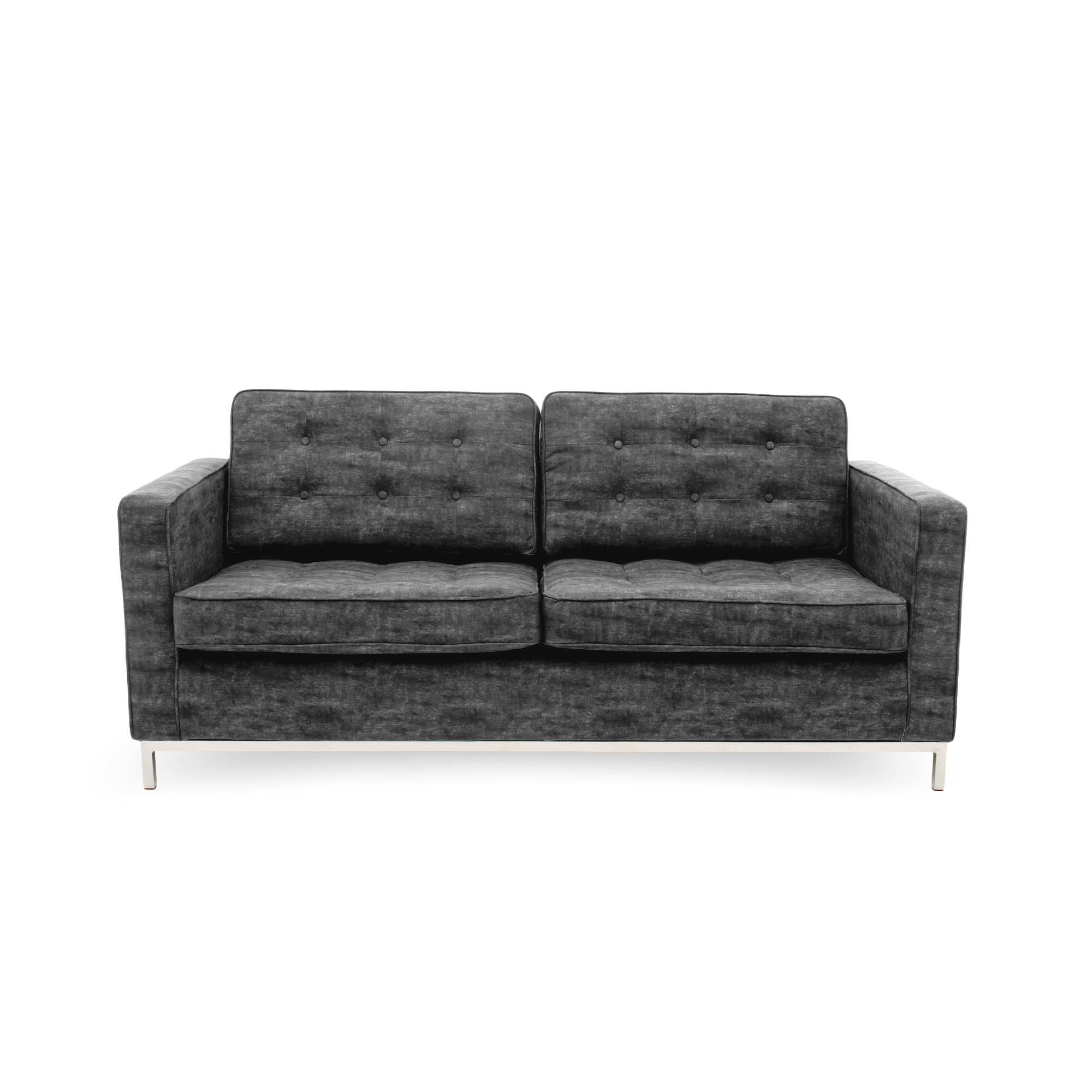 Canapea Fixa 3 locuri Ben Dark Grey
