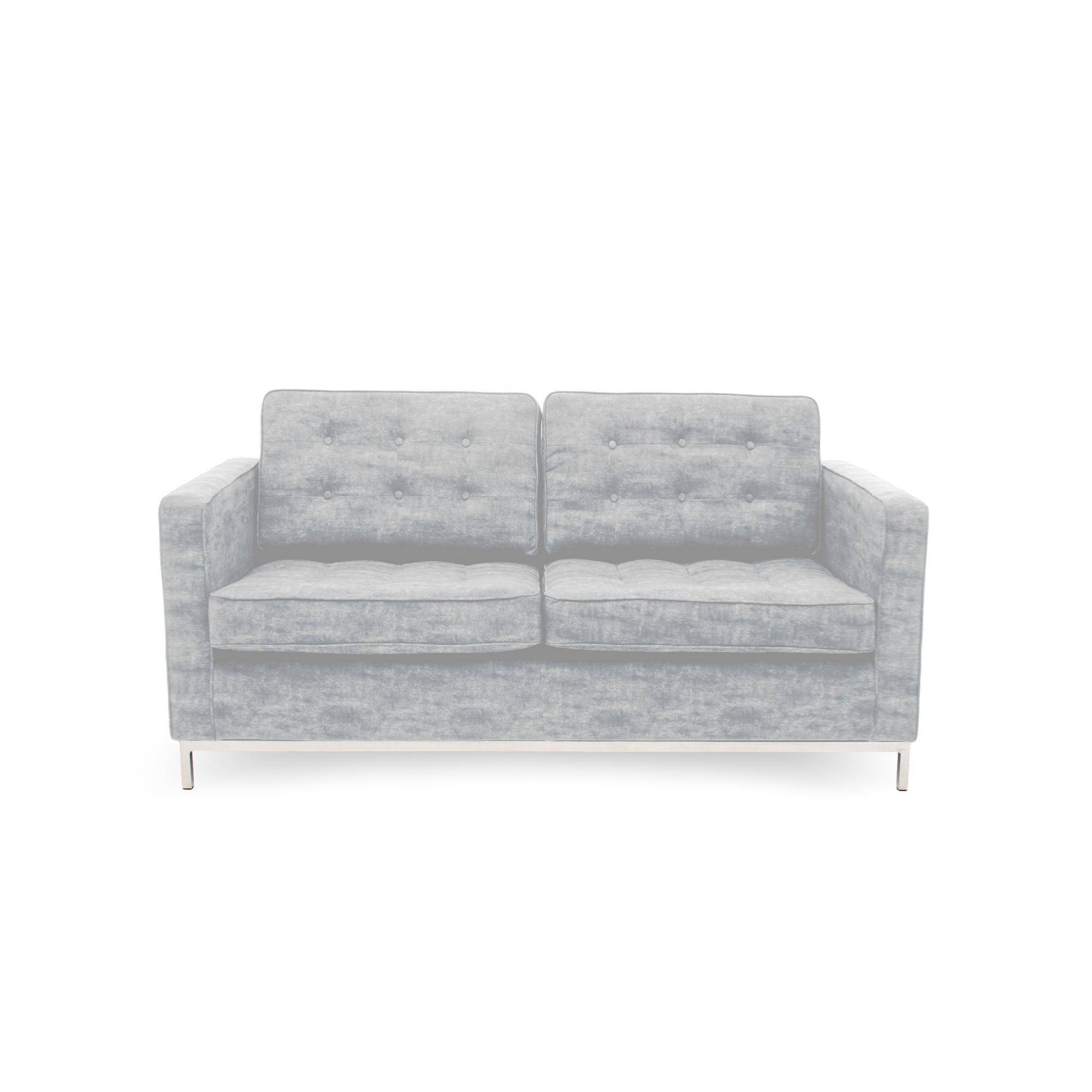 Canapea Fixa 2 locuri Ben Light Grey