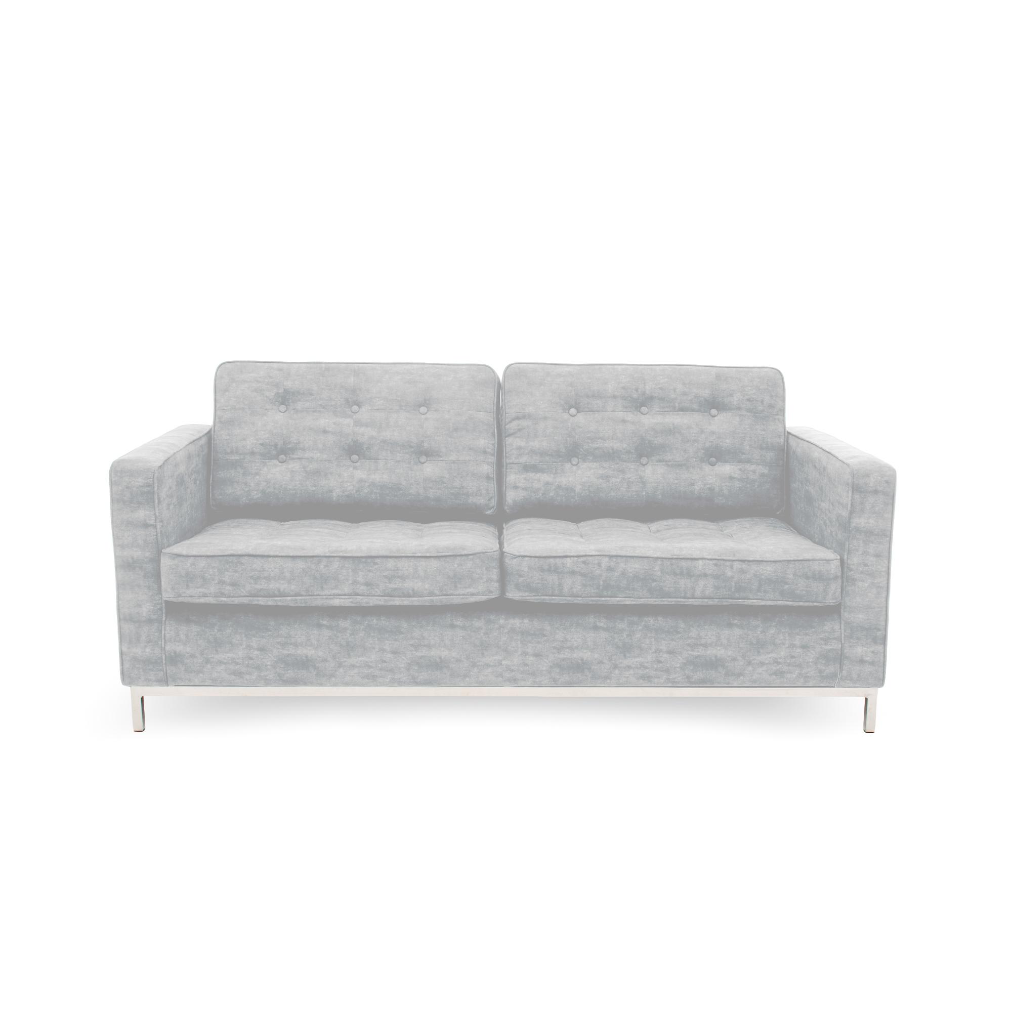 Canapea Fixa 3 locuri Ben Light Grey