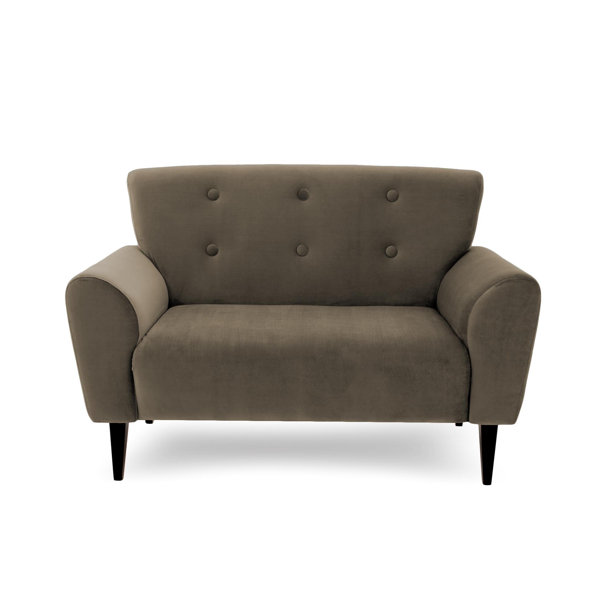 Canapea Fixa 2 locuri Kiara Taupe
