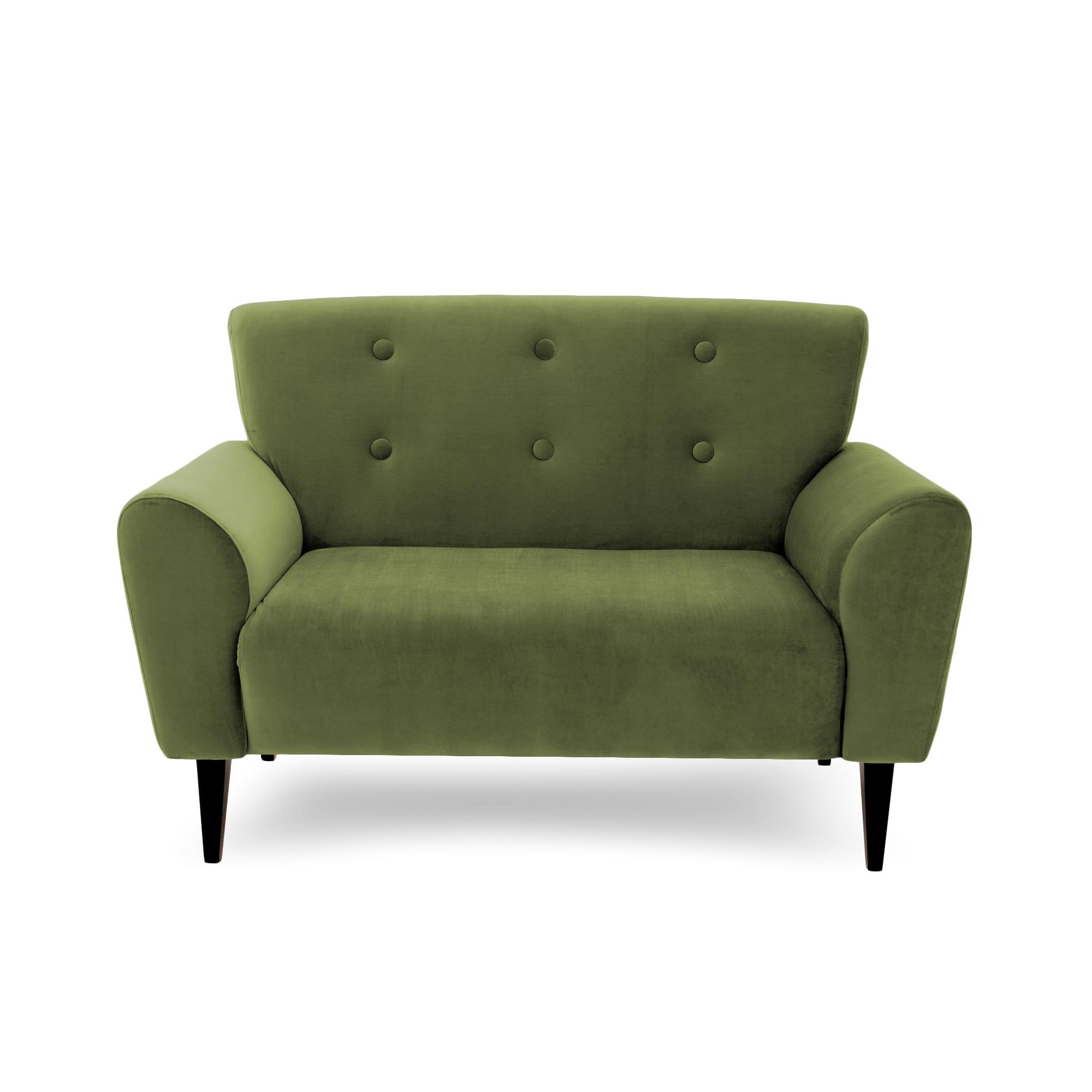 Canapea Fixa 2 locuri Kiara Olive Green