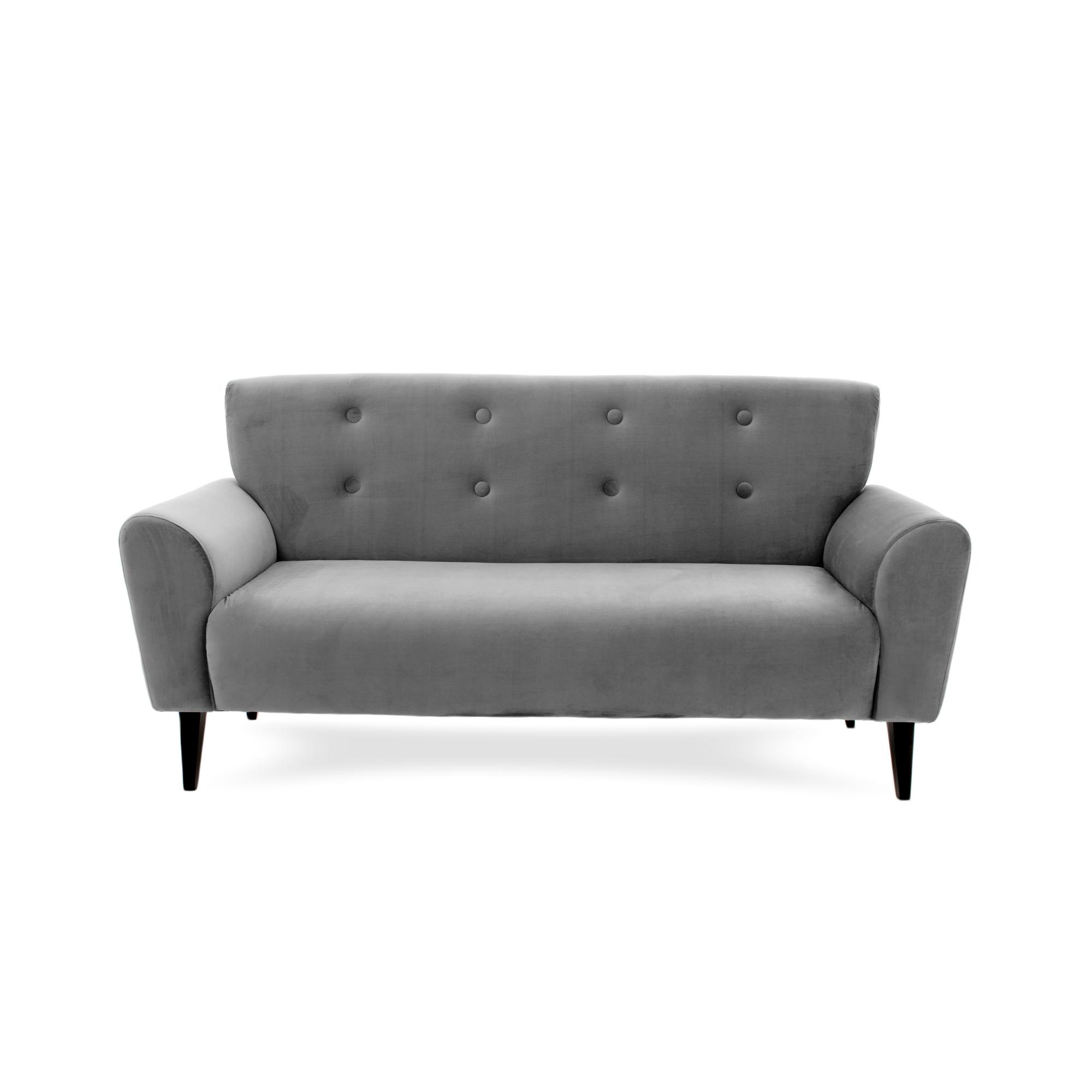 Canapea Fixa 3 locuri Kiara Silver