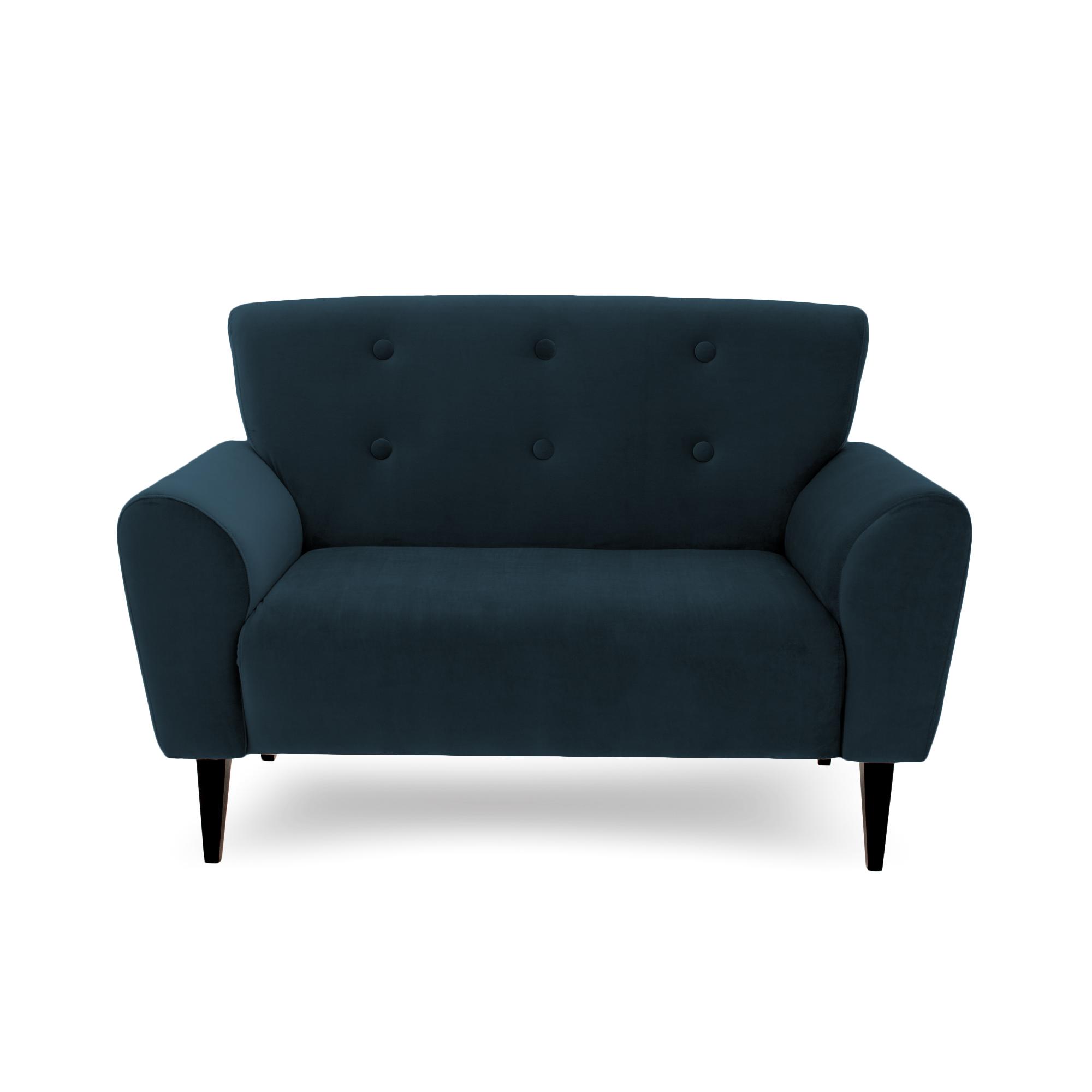 Canapea Fixa 2 locuri Kiara Marine Blue