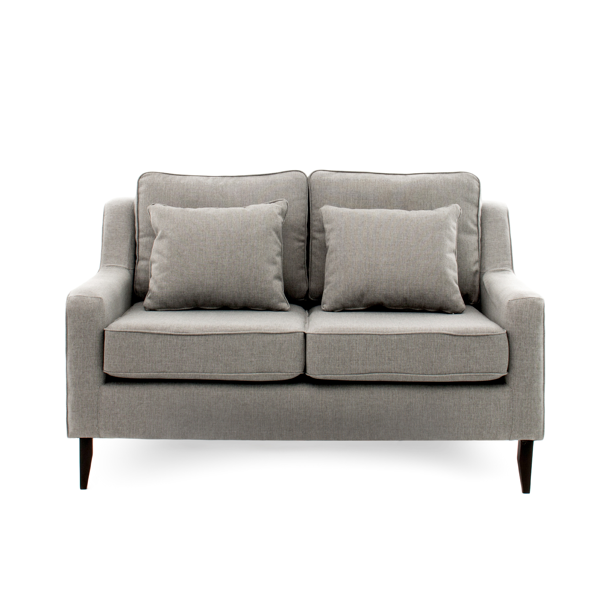 Canapea Fixa 2 Locuri Bond Grey