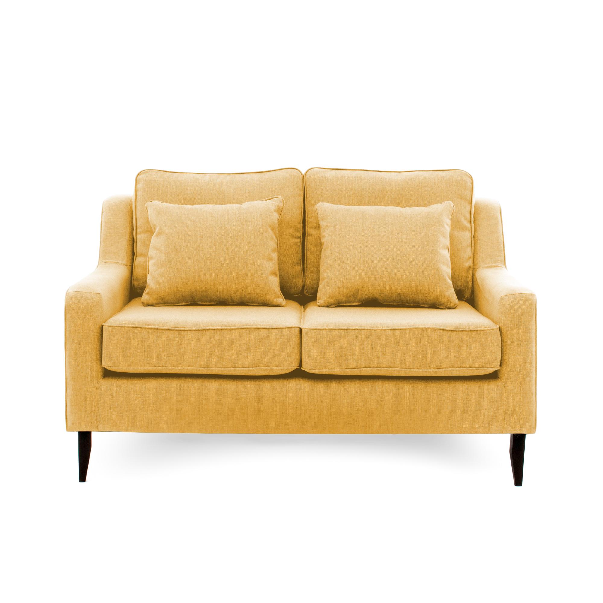 Canapea Fixa 2 locuri Bond Mustard