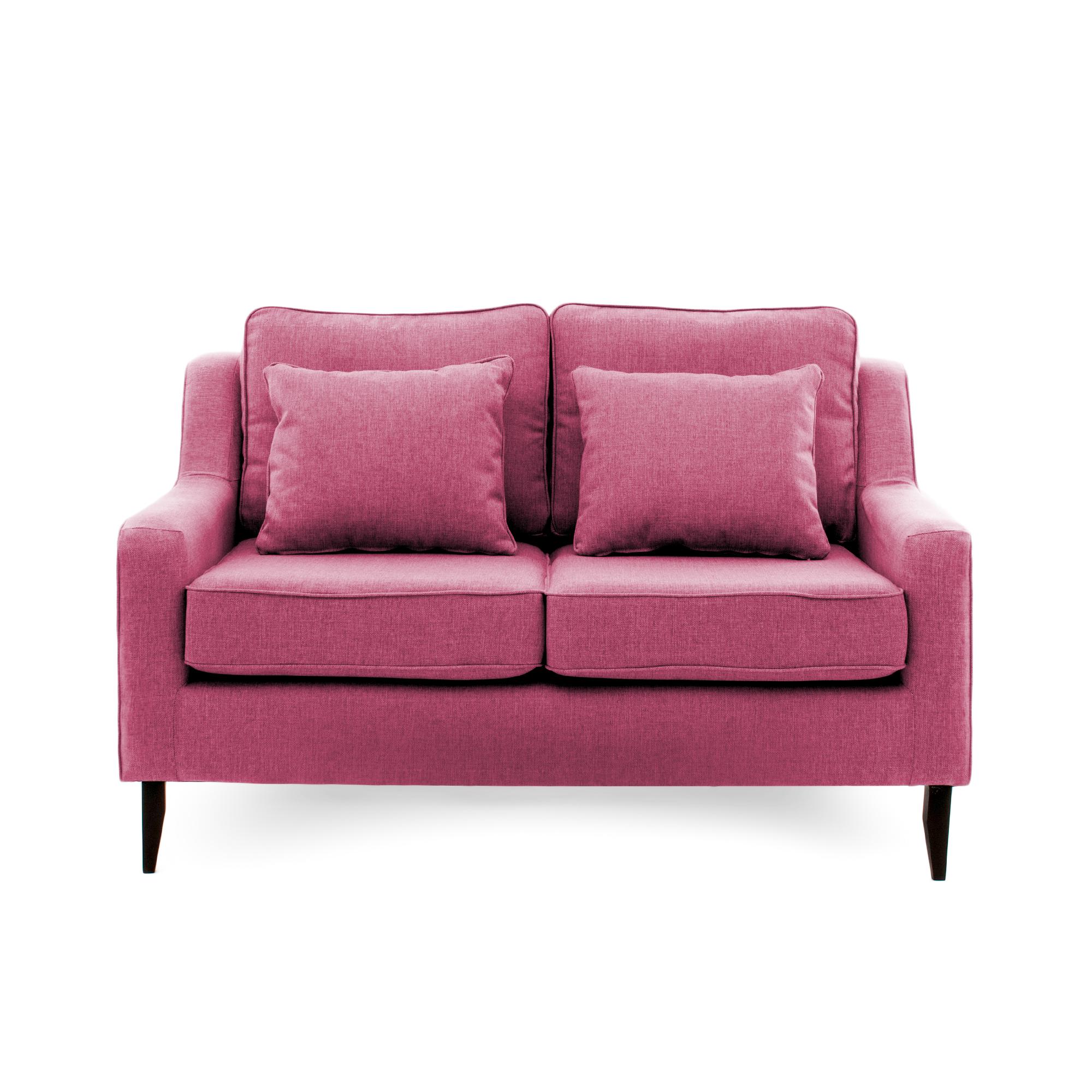 Canapea Fixa 2 locuri Bond Pink
