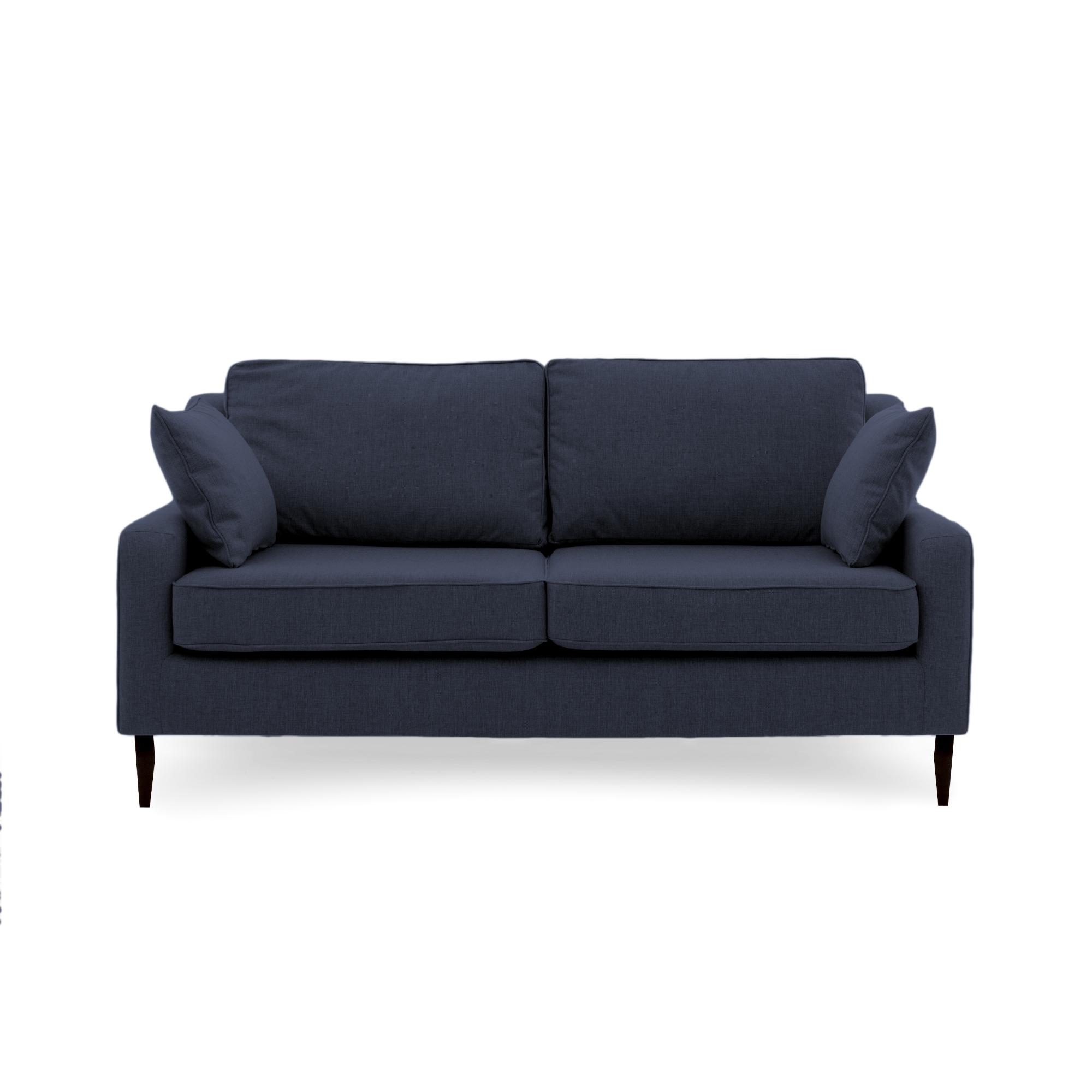 Canapea Fixa 3 locuri Bond Navy Blue