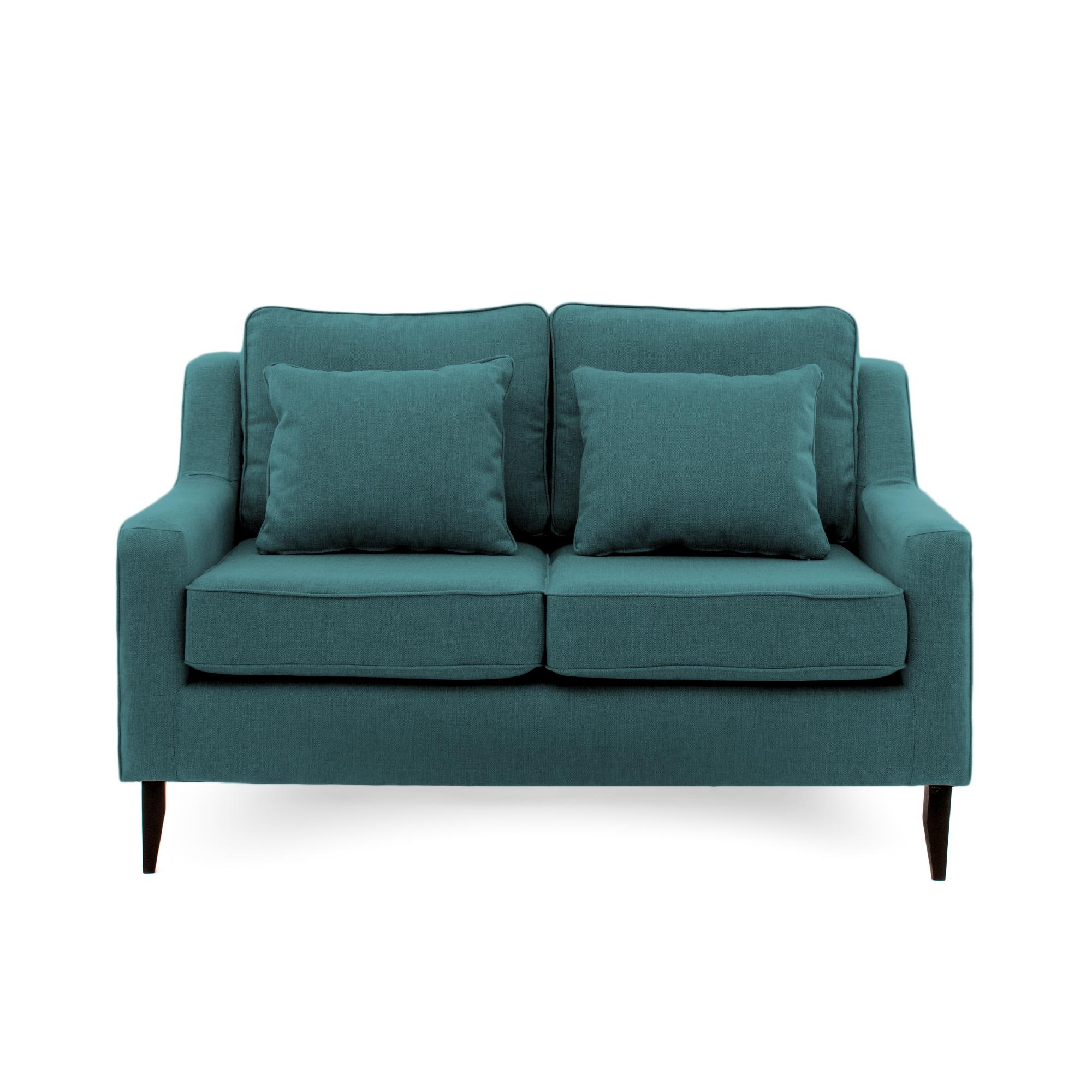 Canapea Fixa 2 locuri Bond Turquoise