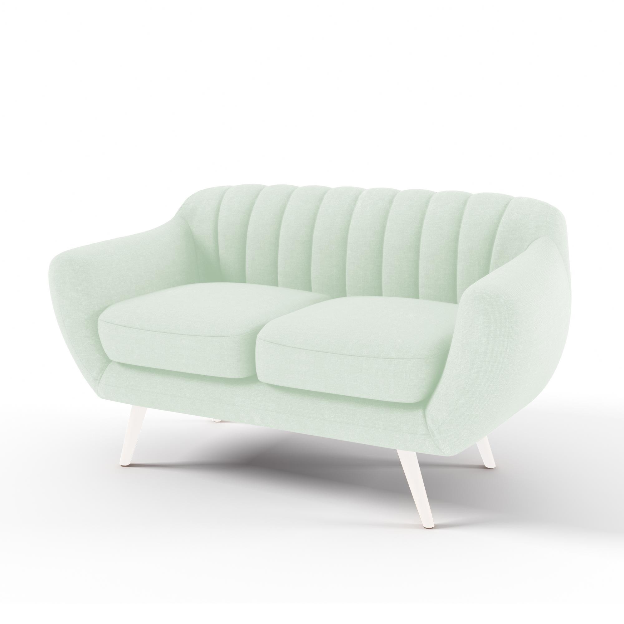 Canapea Fixa 2 locuri Kennet Pastel Green