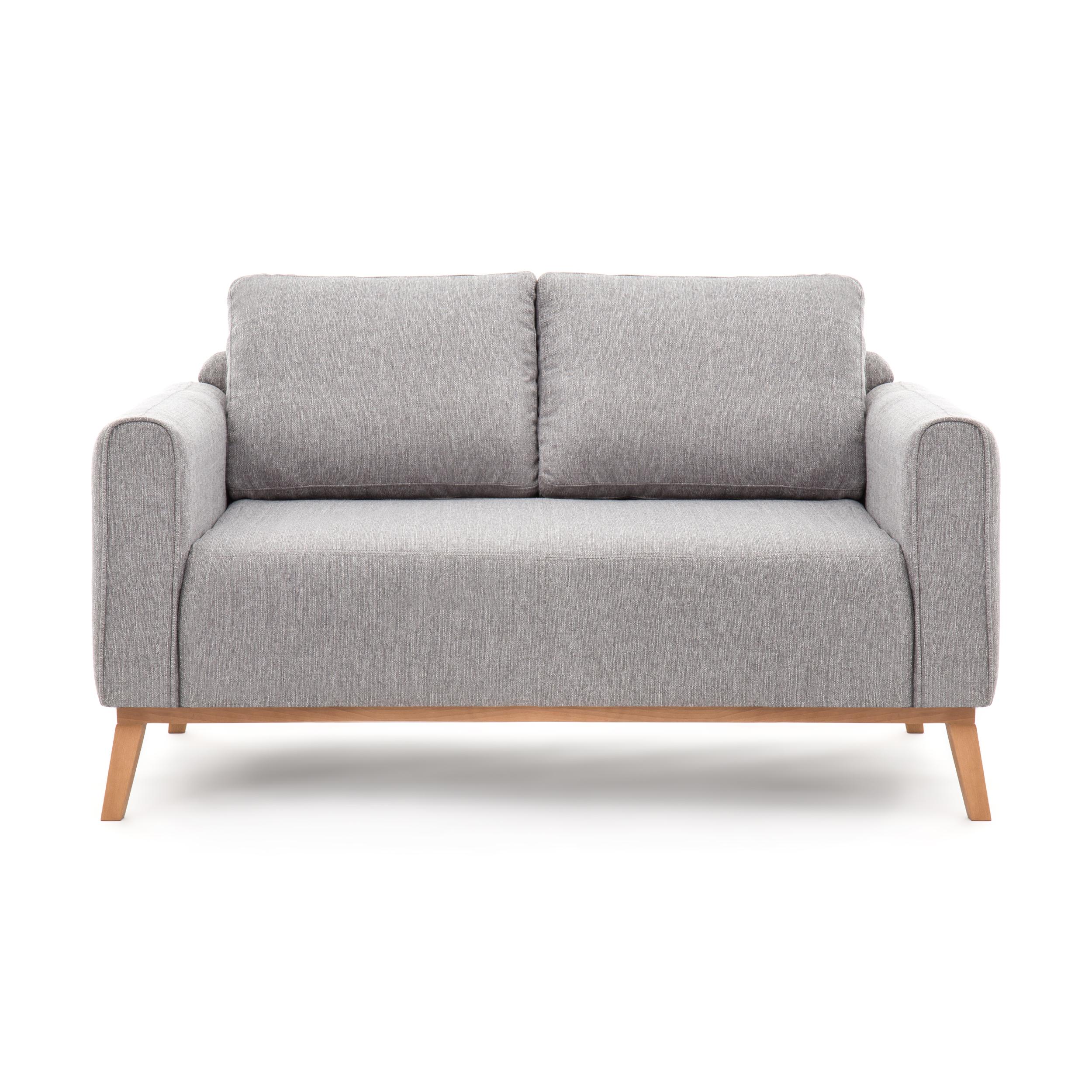 Canapea Fixa 2 locuri Milton Light Grey