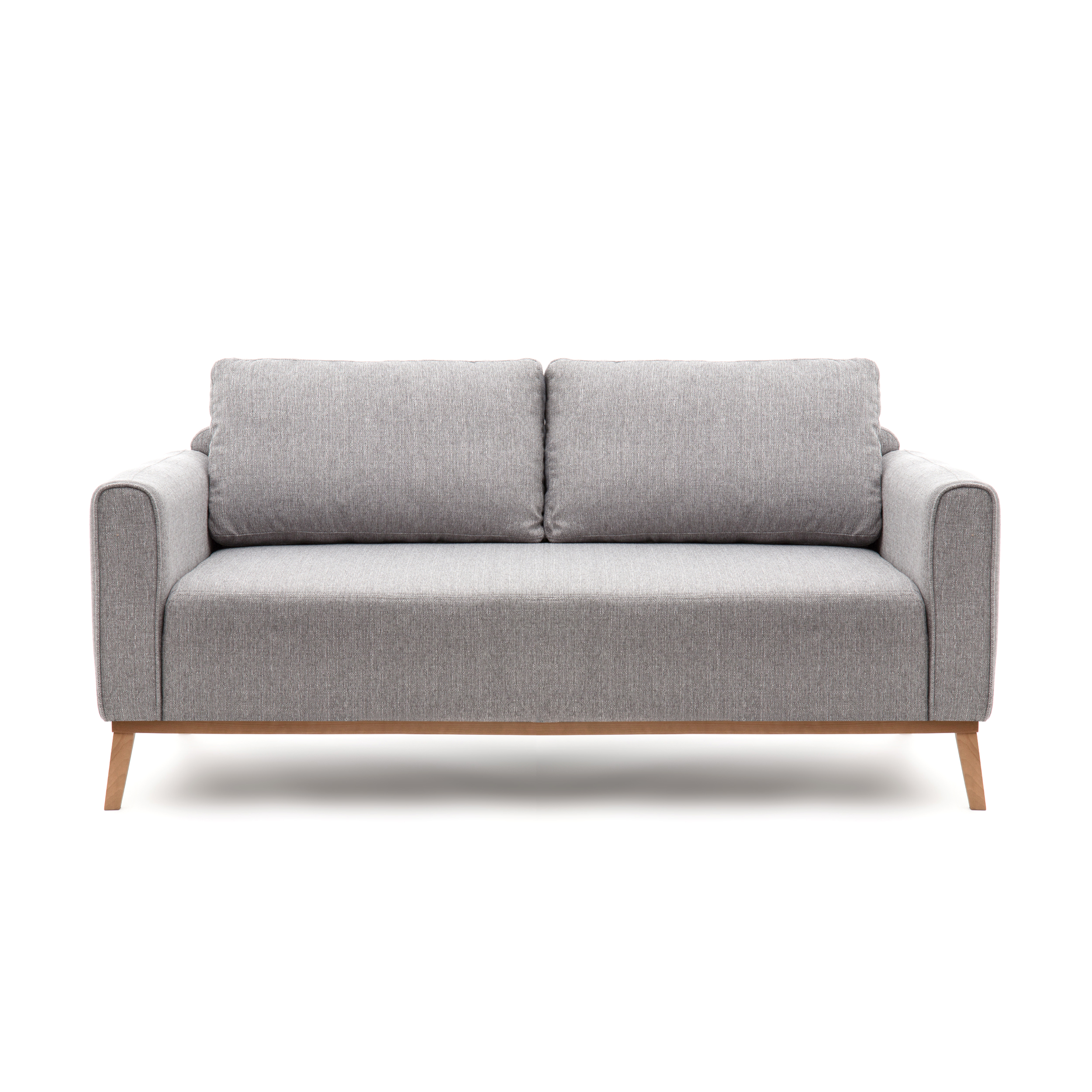 Canapea Fixa 3 locuri Milton Light Grey