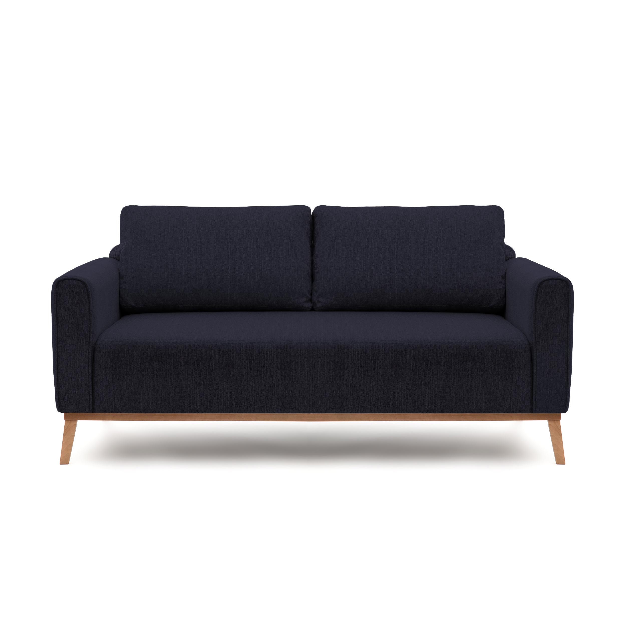 Canapea Fixa 3 locuri Milton Dark Blue