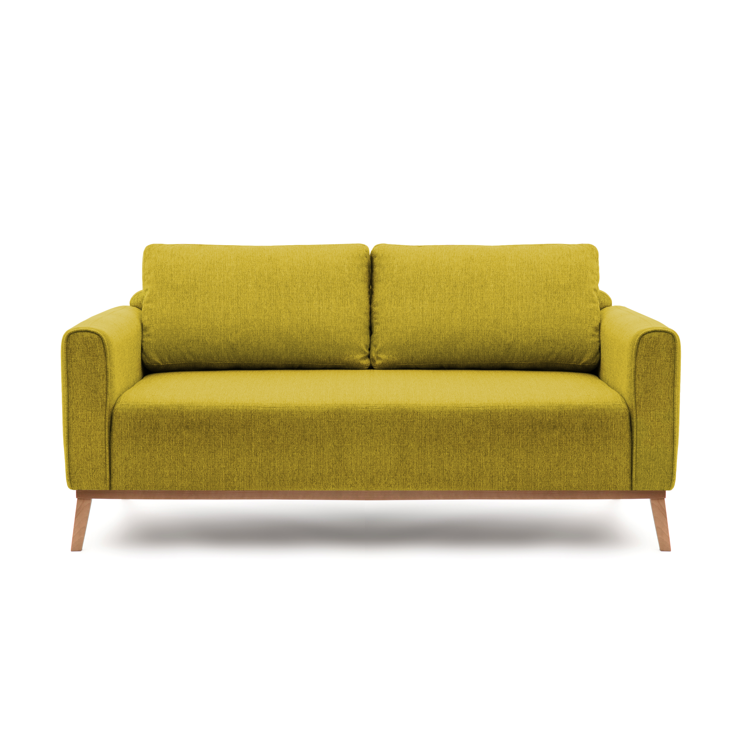 Canapea Fixa 3 locuri Milton Green