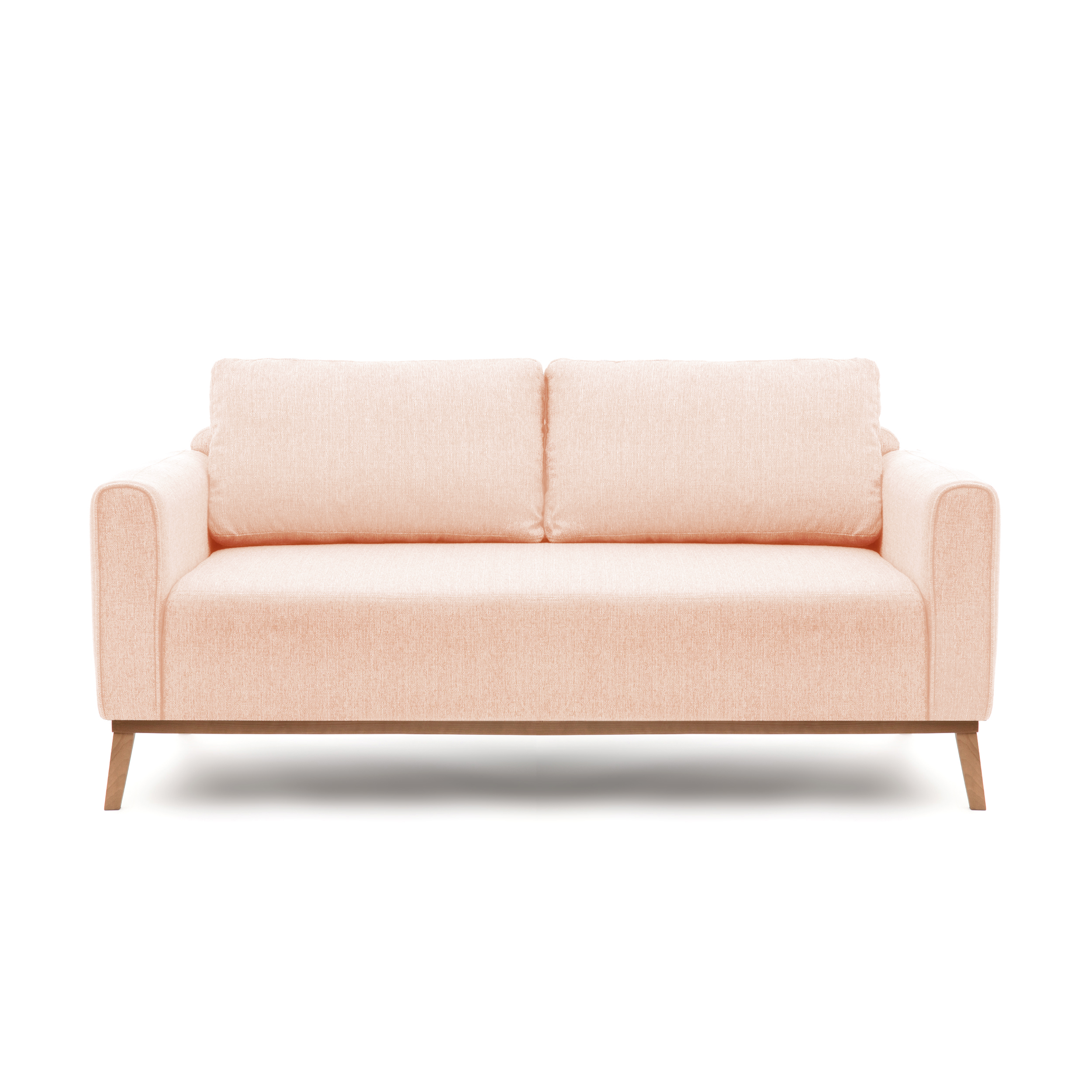 Canapea Fixa 3 locuri Milton Light Pink