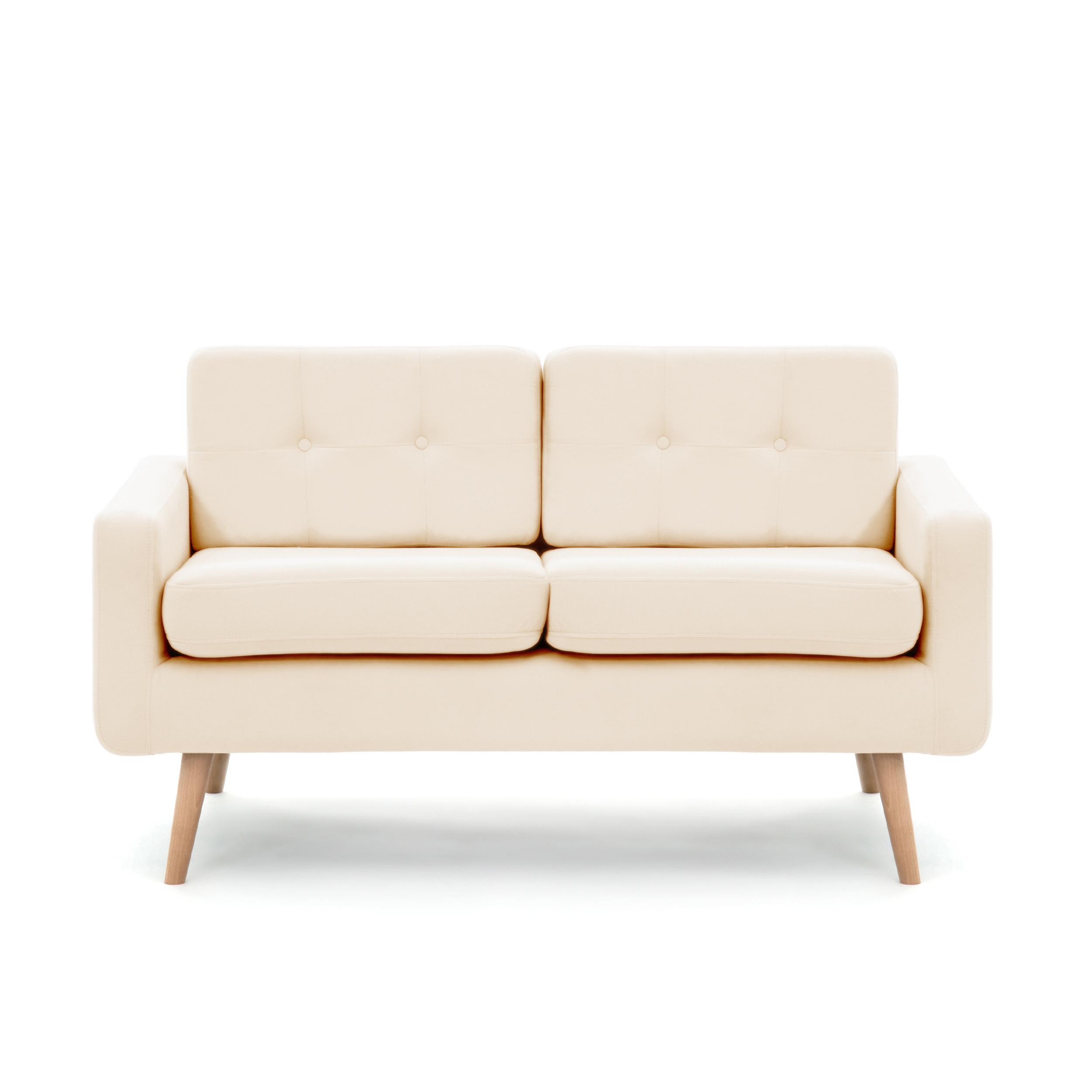 Canapea Fixa 2 locuri Ina Beige