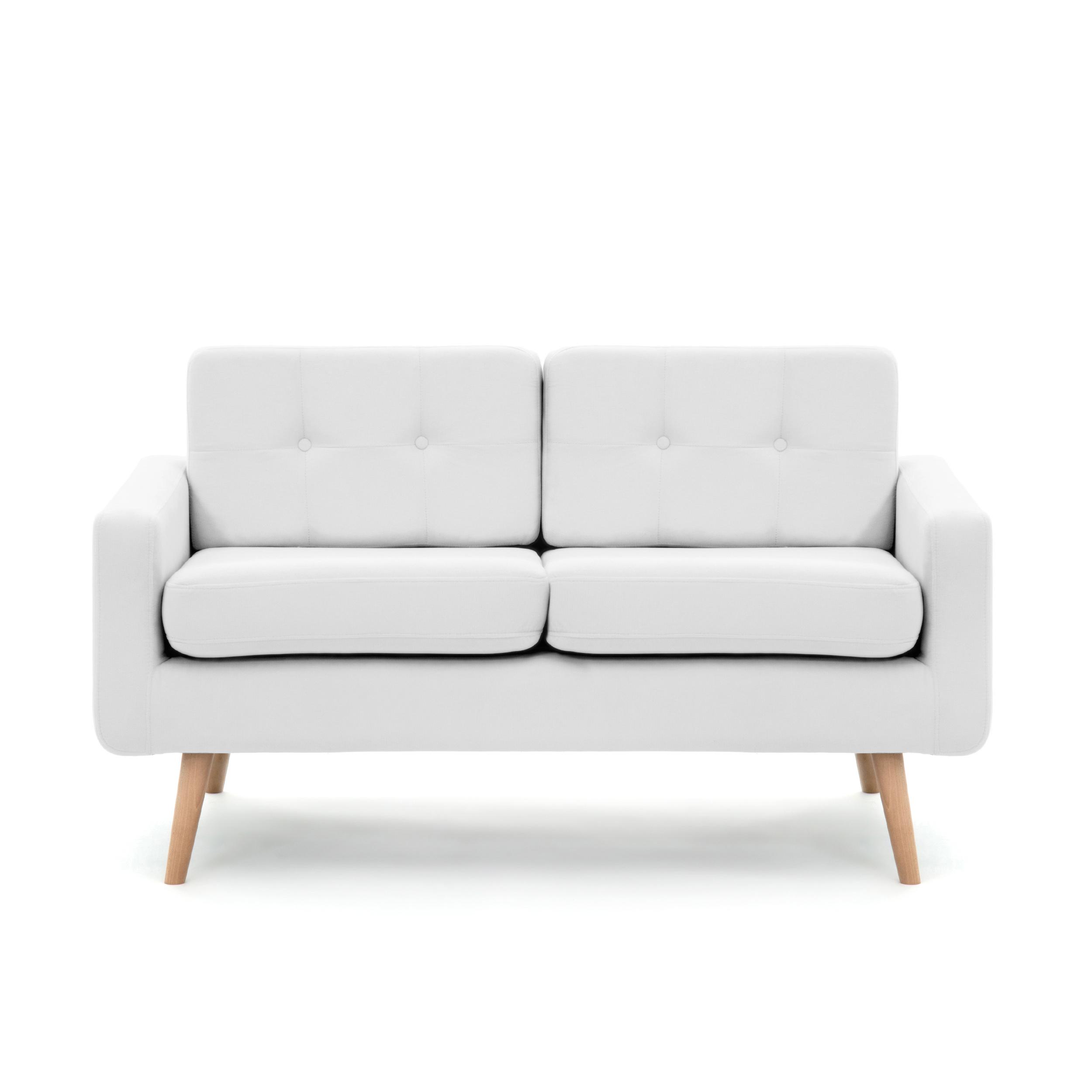 Canapea Fixa 2 locuri Ina Light Grey