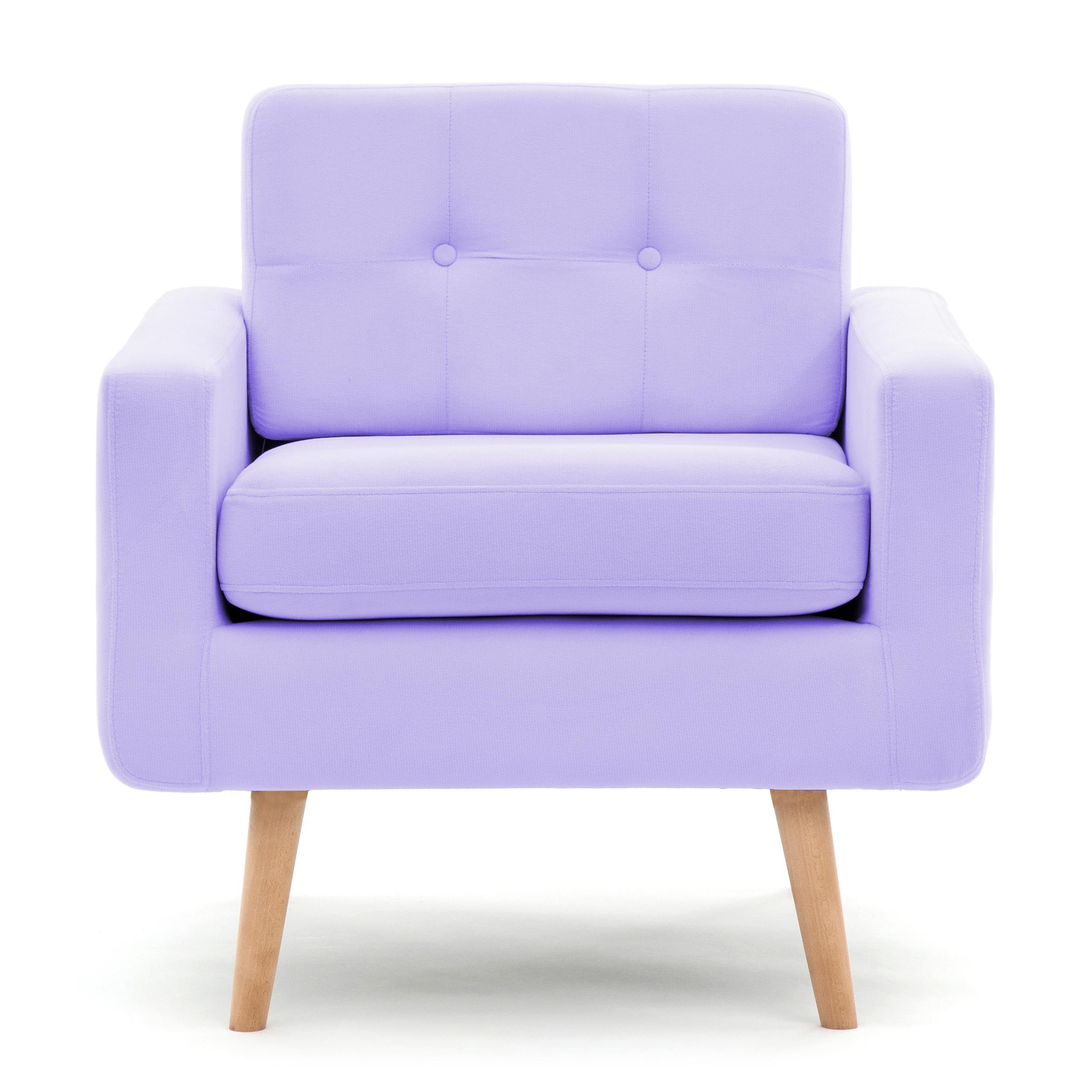 Fotoliu Ina Pastel Purple