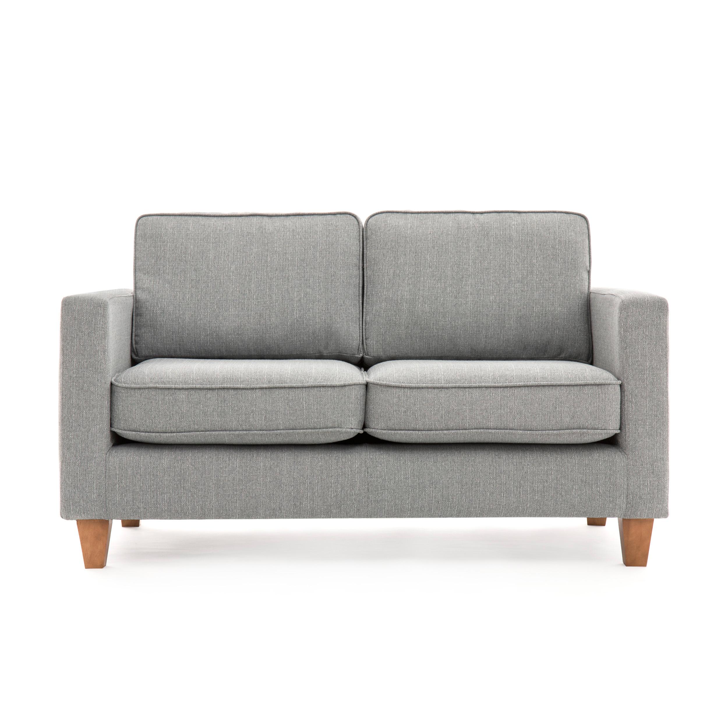 Canapea Fixa 2 locuri Sorio Light Grey