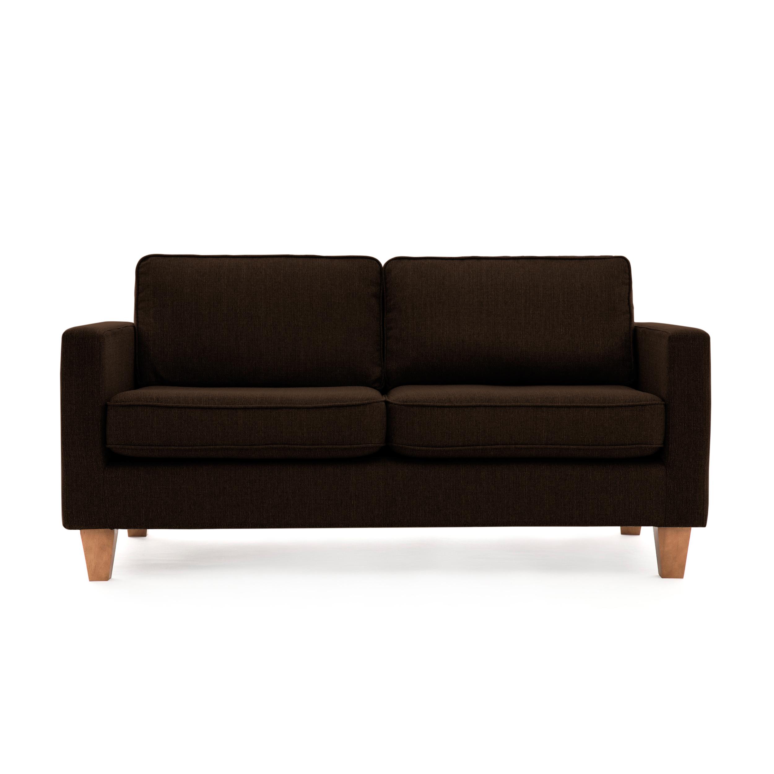 Canapea Fixa 3 locuri Sorio Dark Brown