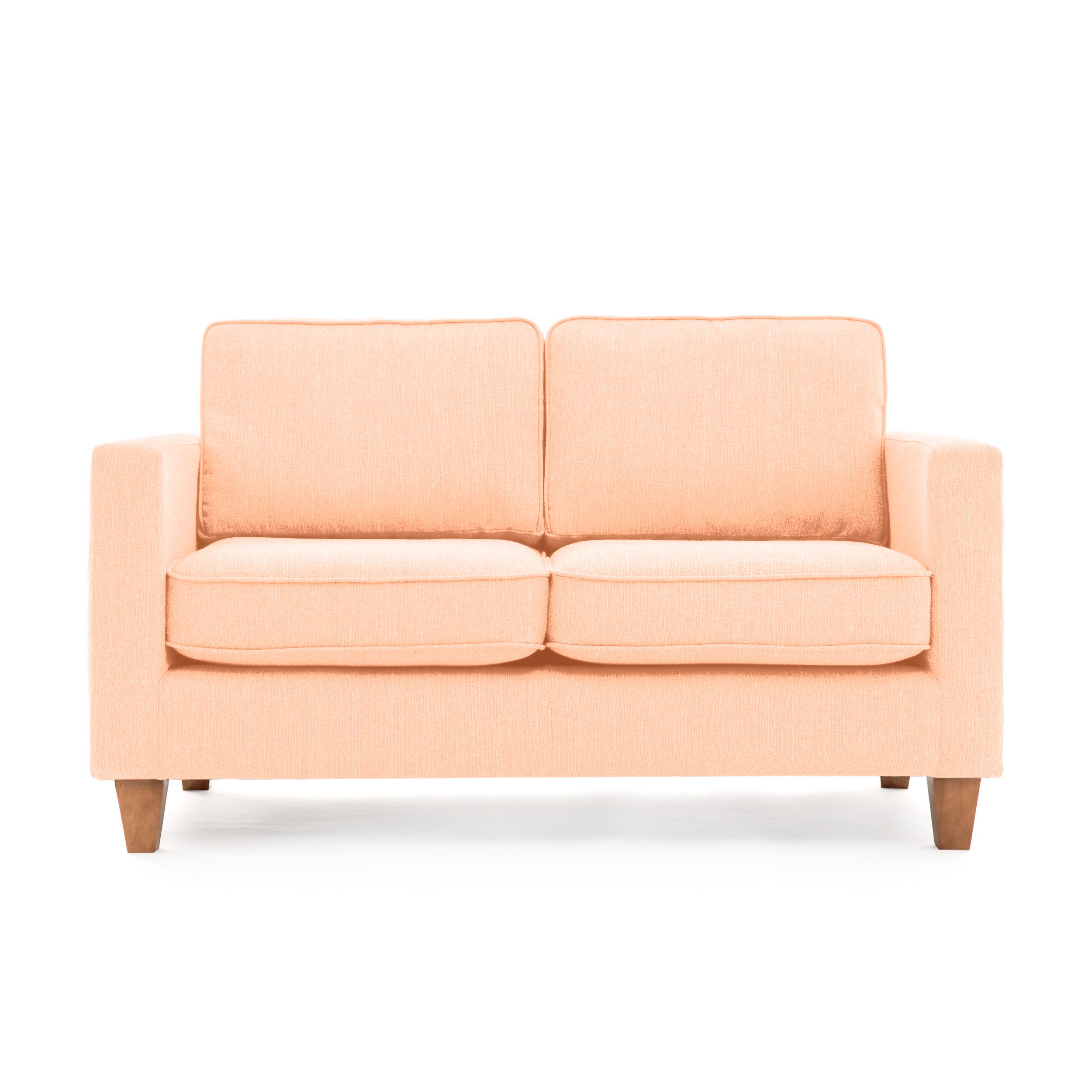 Canapea Fixa 2 locuri Sorio Light pink