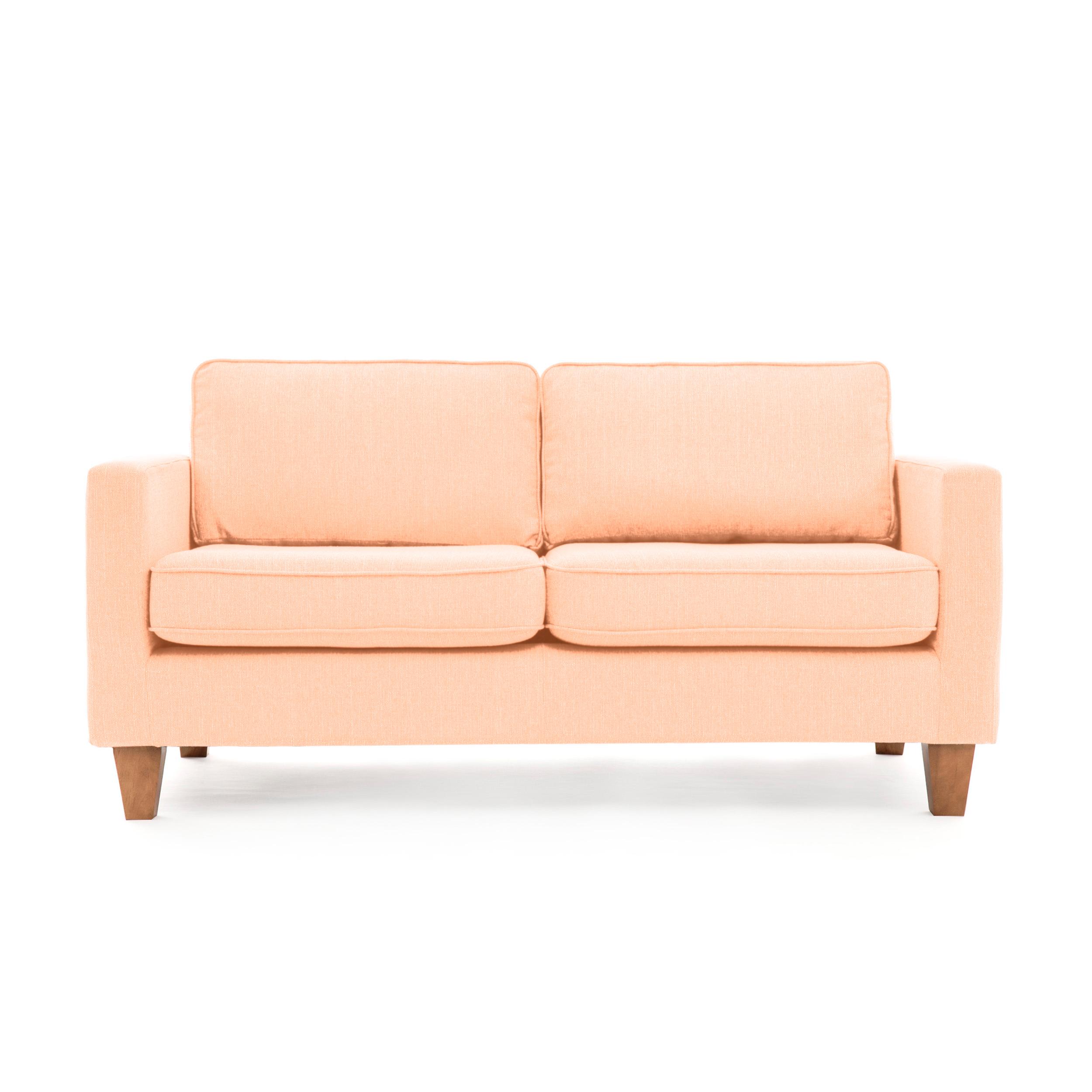 Canapea Fixa 3 locuri Sorio Light pink