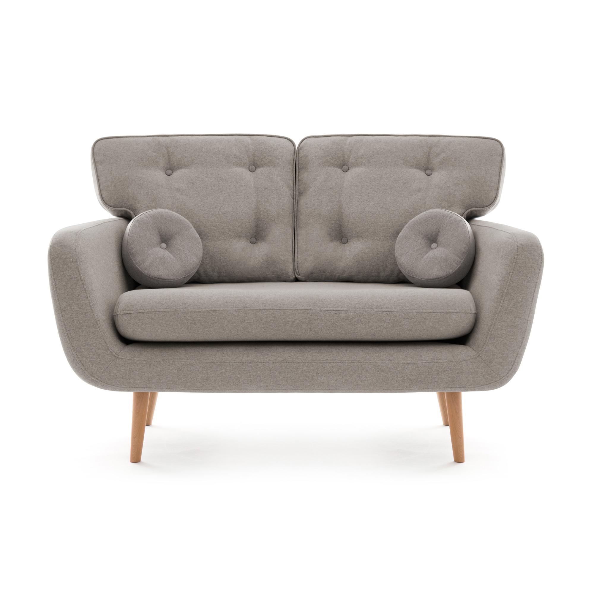 Canapea Fixa 2 locuri Malva Grey