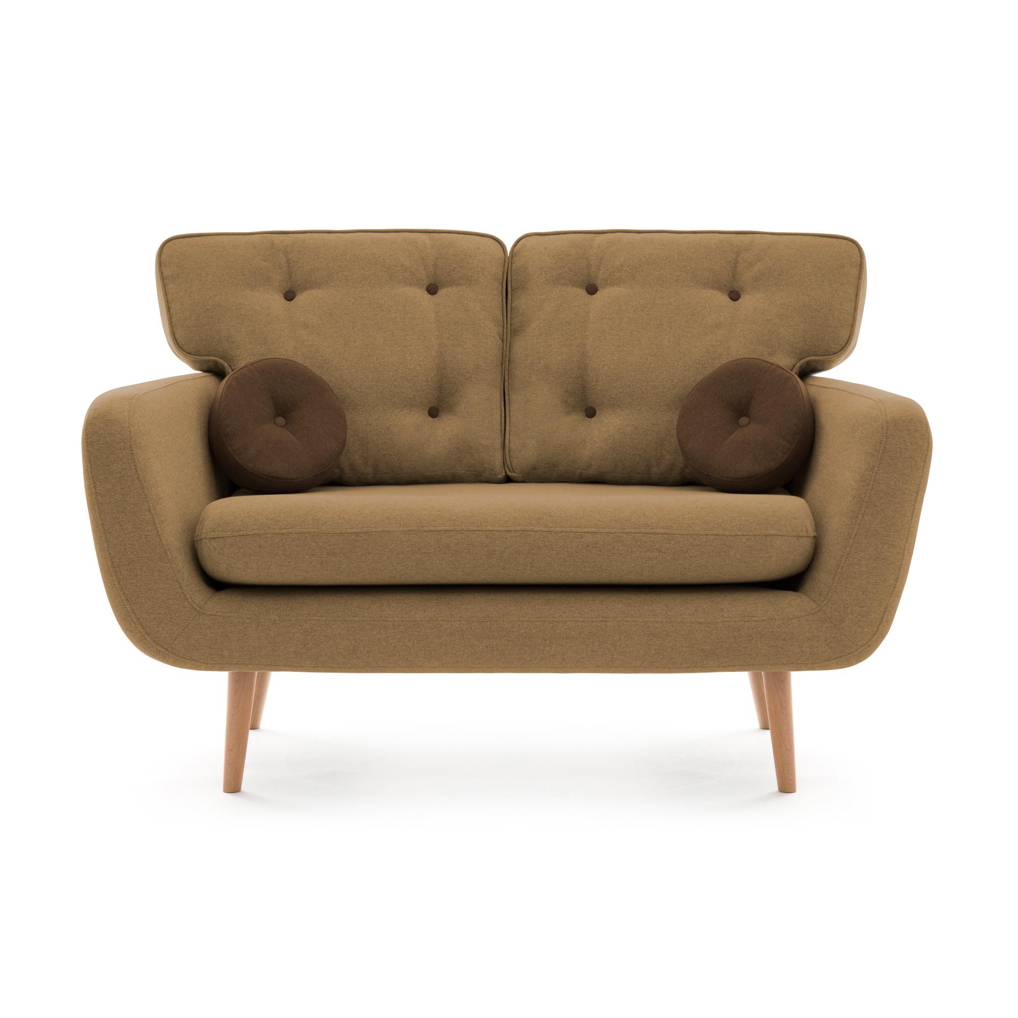 Canapea Fixa 2 locuri Malva Sand Brown