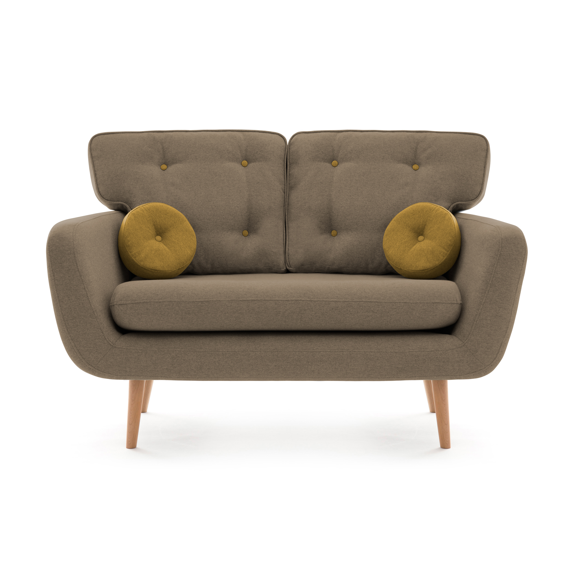 Canapea Fixa 2 locuri Malva Beige