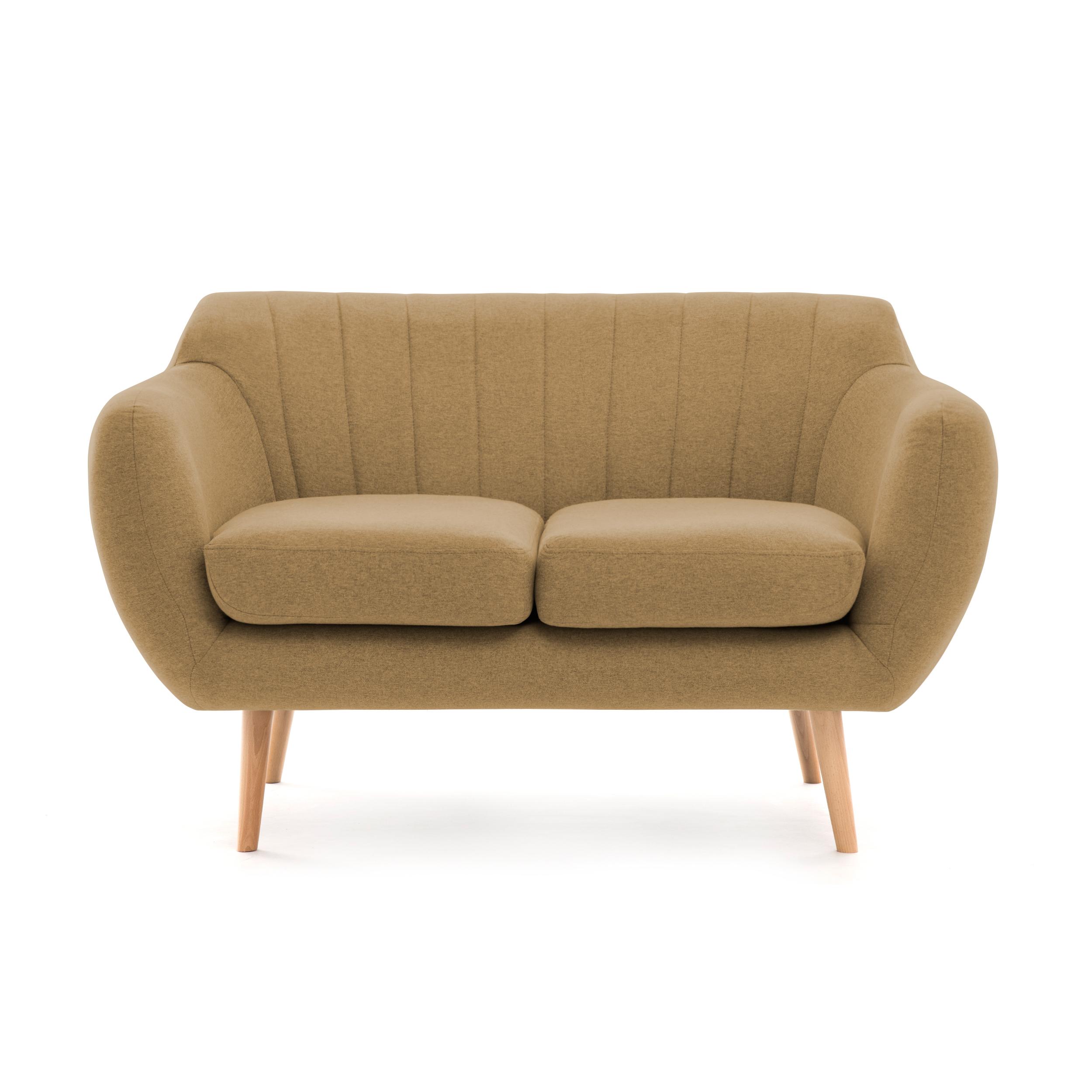 Canapea Fixa 2 locuri Kennet Sand