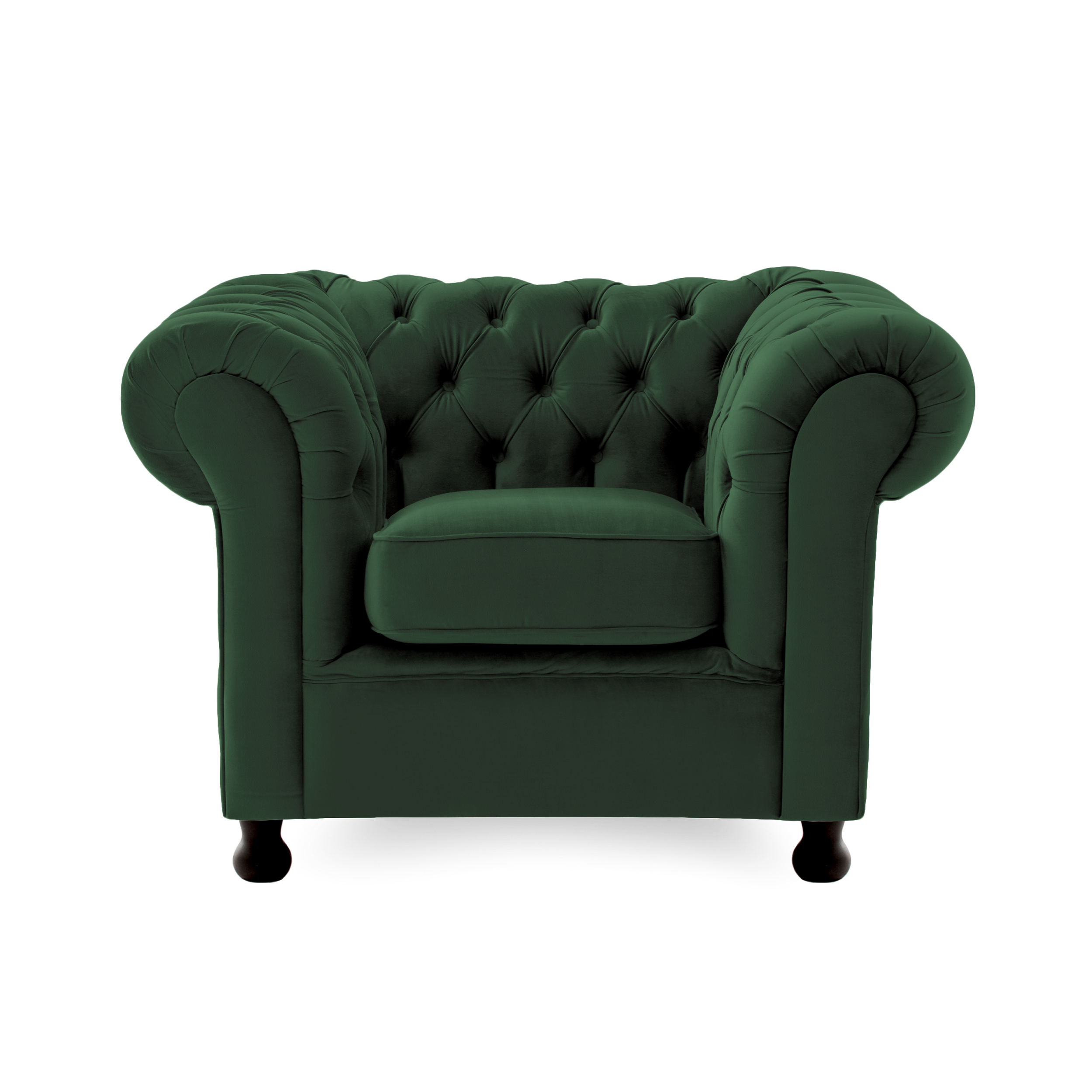 Fotoliu Chesterfield Emerald Green