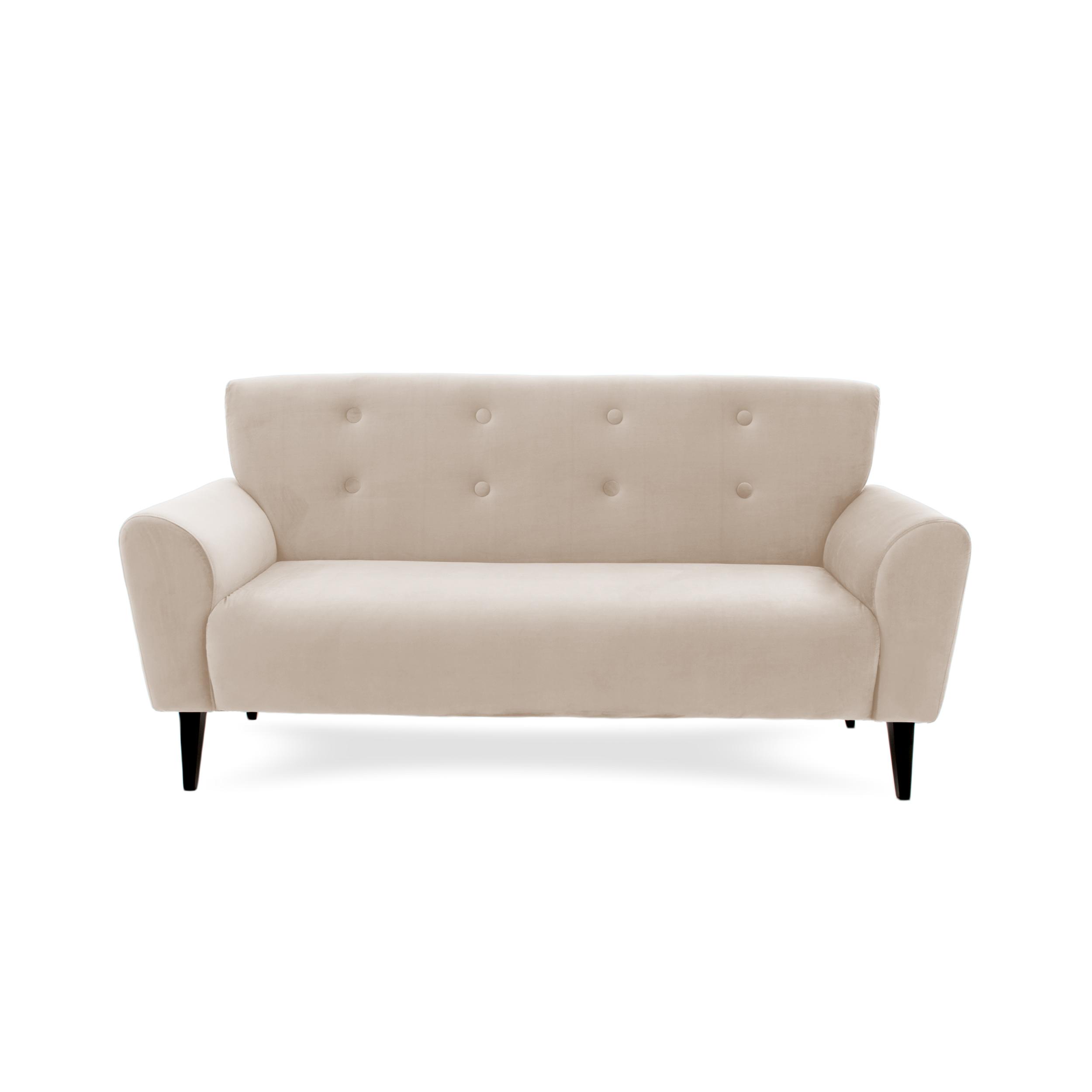 Canapea Fixa 3 locuri Kiara Silky Grey