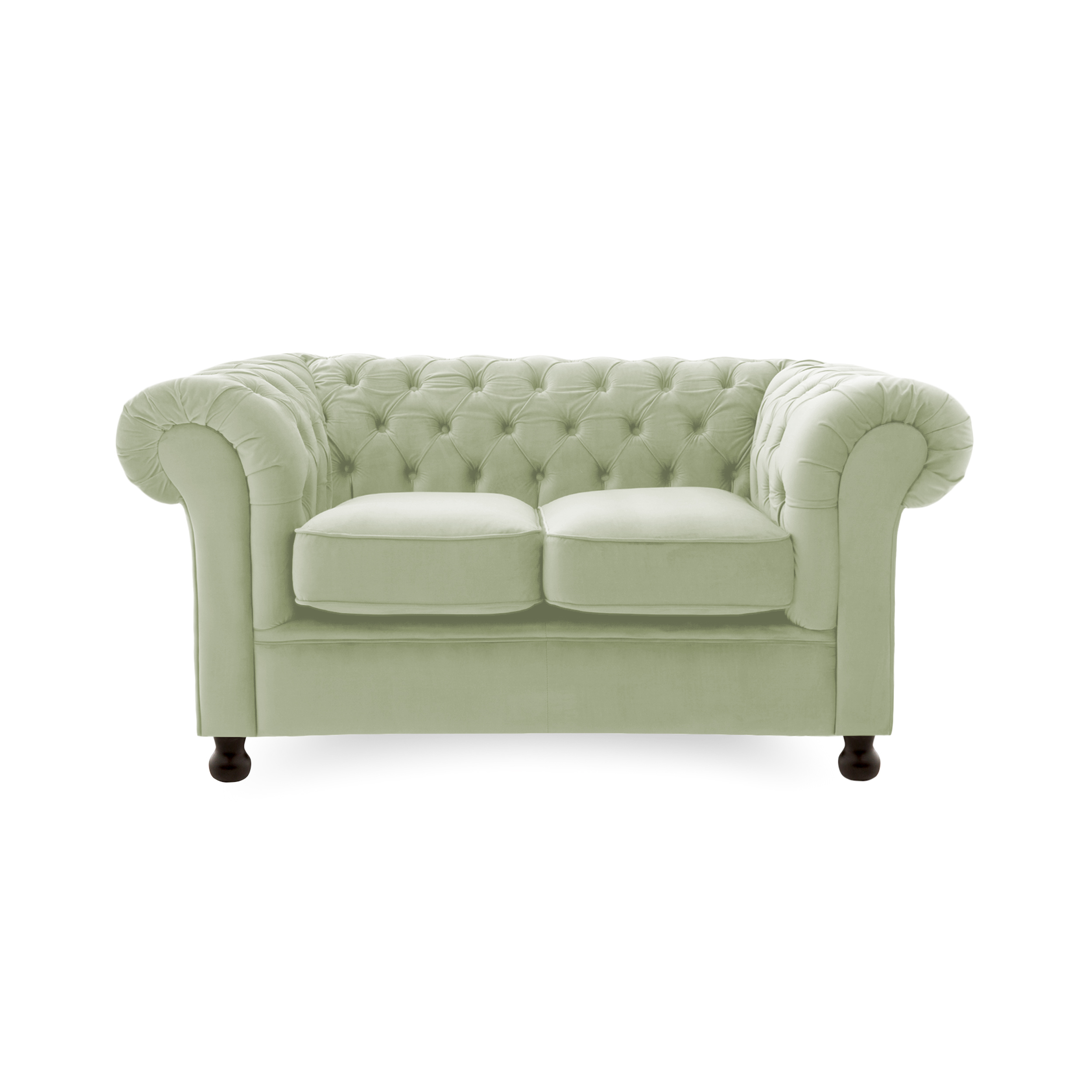 Canapea Fixa 2 locuri Chesterfield Apple Green