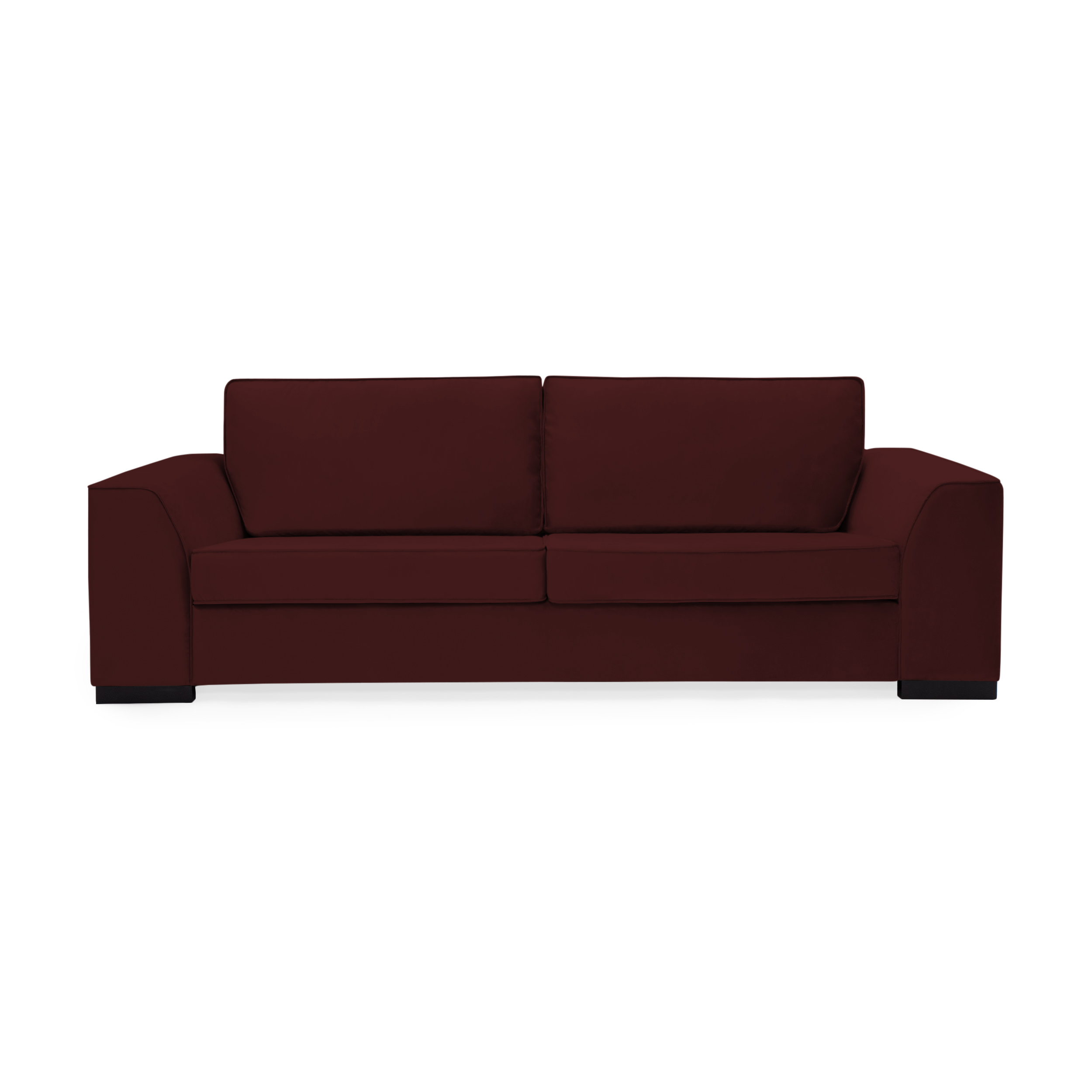 Canapea 3 locuri Bronson Burgundy Red