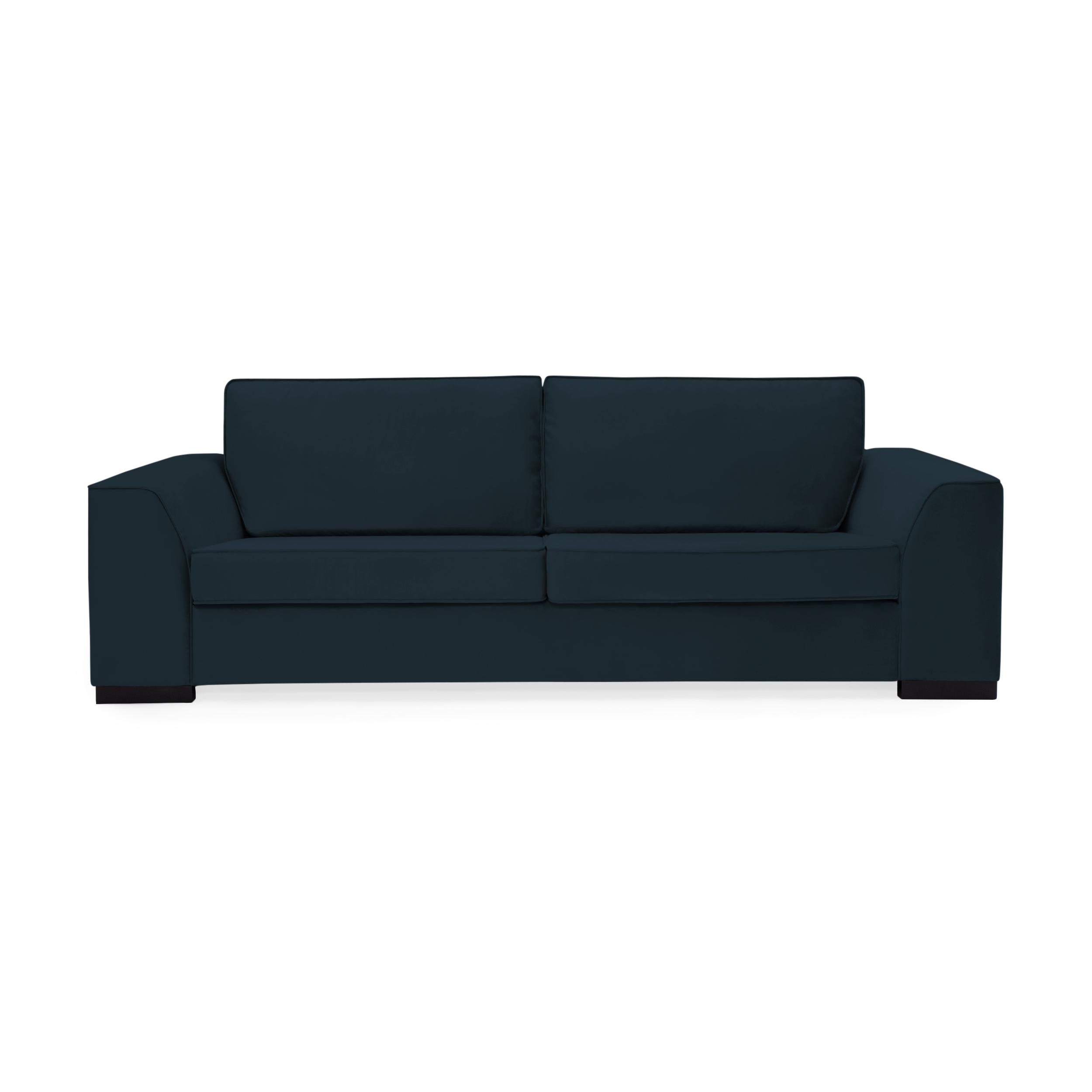 Canapea 3 locuri Bronson Marine Blue