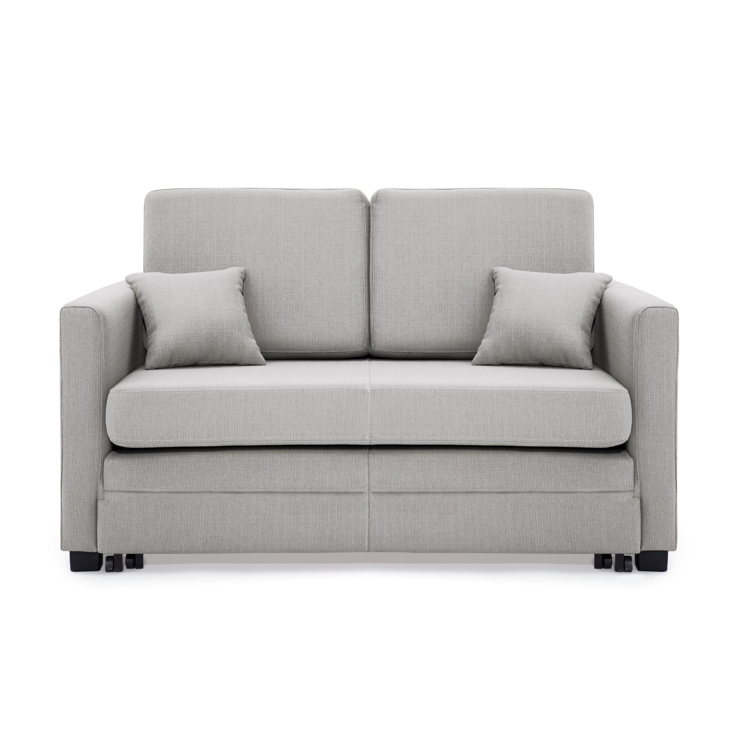 Canapea 2 locuri Brent Light Grey