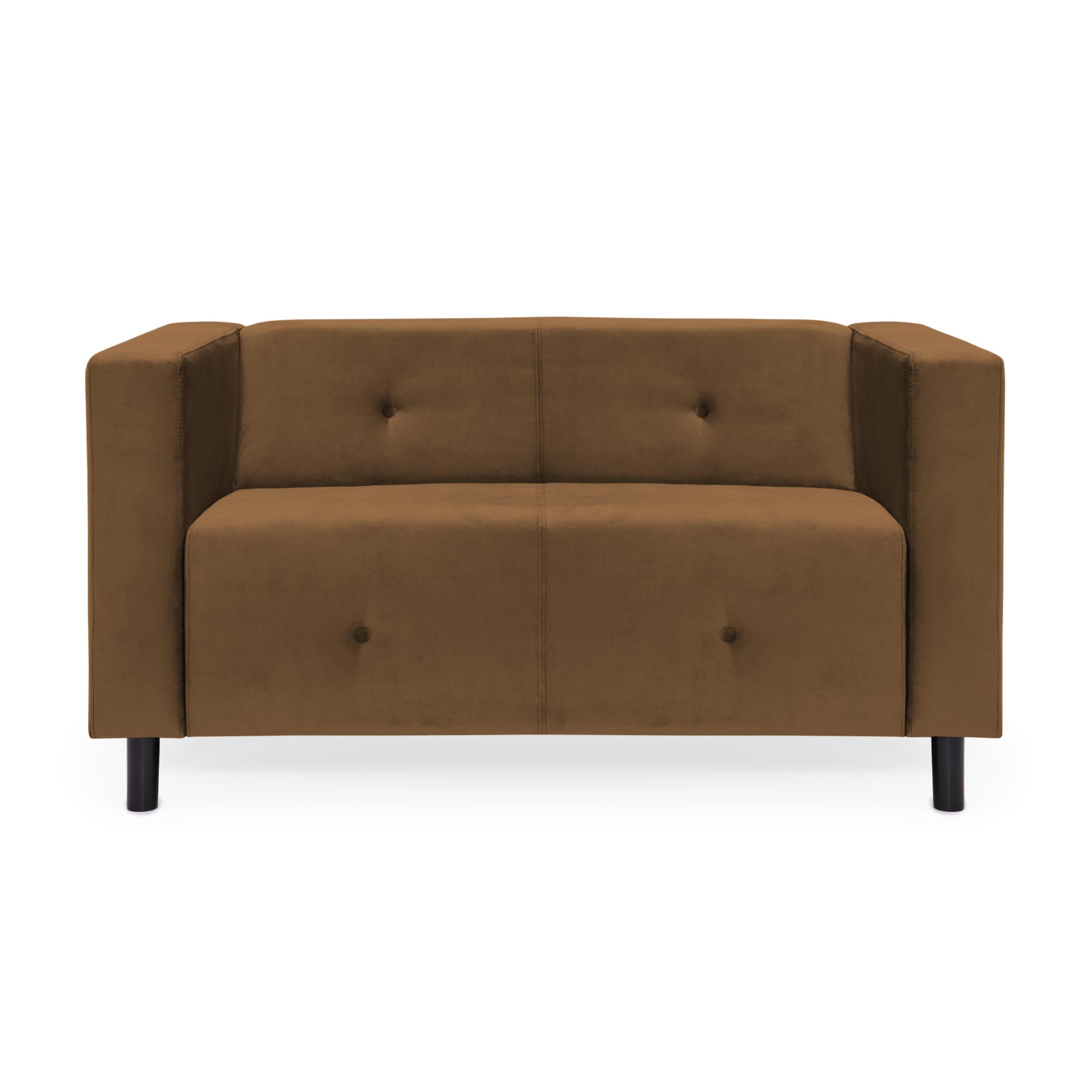 Canapea 2 locuri Milo Tobacco Brown