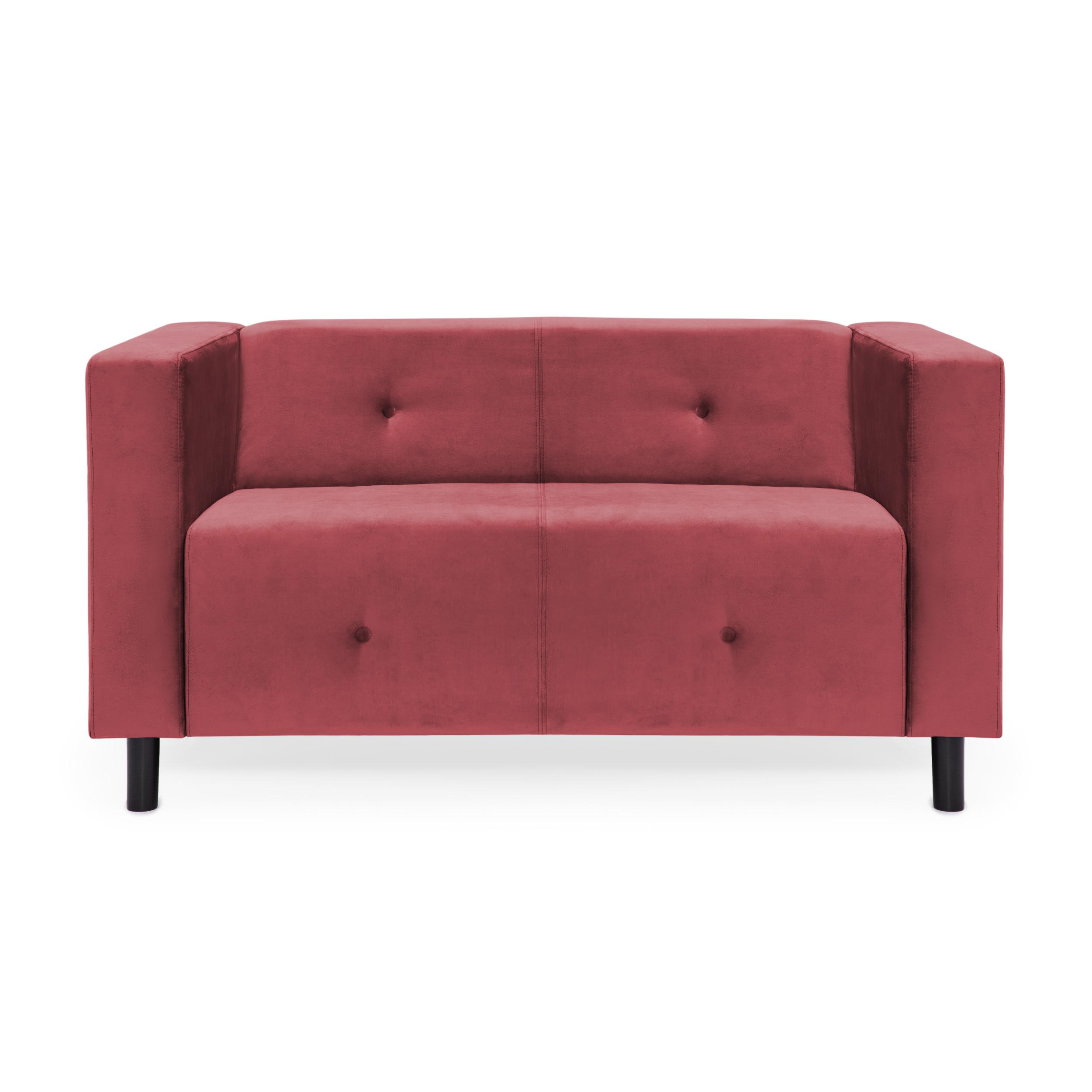 Canapea 2 locuri Milo Rusty Red