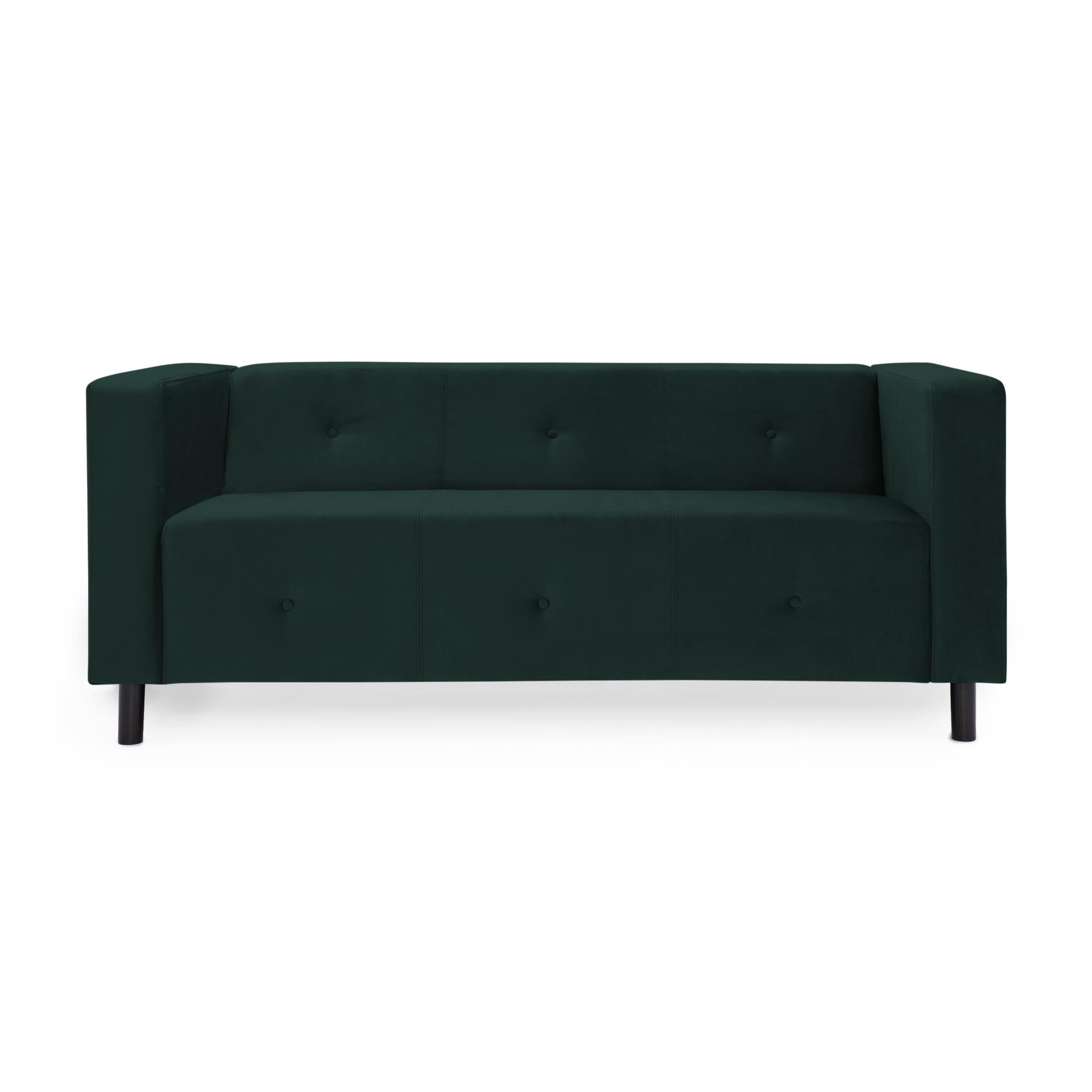Canapea 3 locuri Milo Emerald Green
