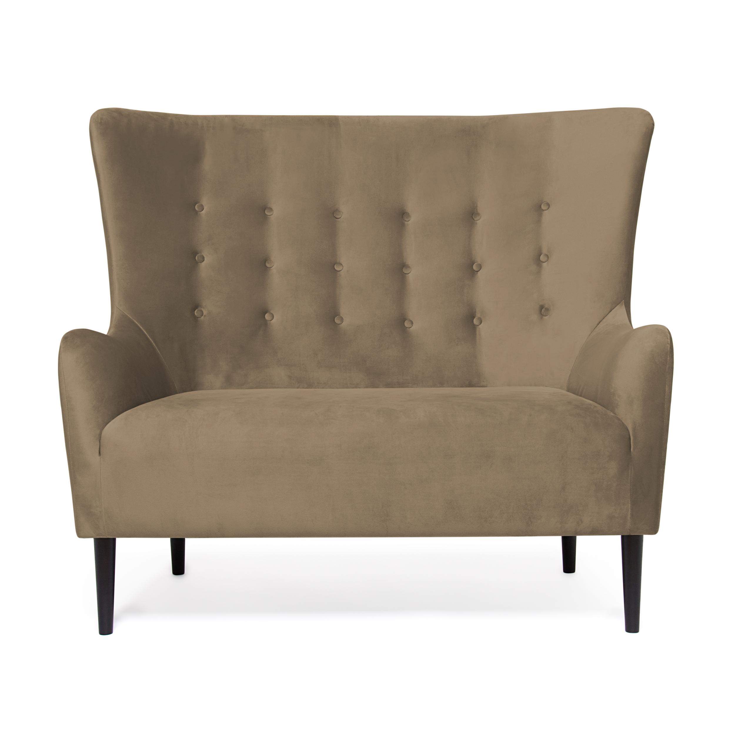Canapea Fixa 2 locuri Blair Taupe