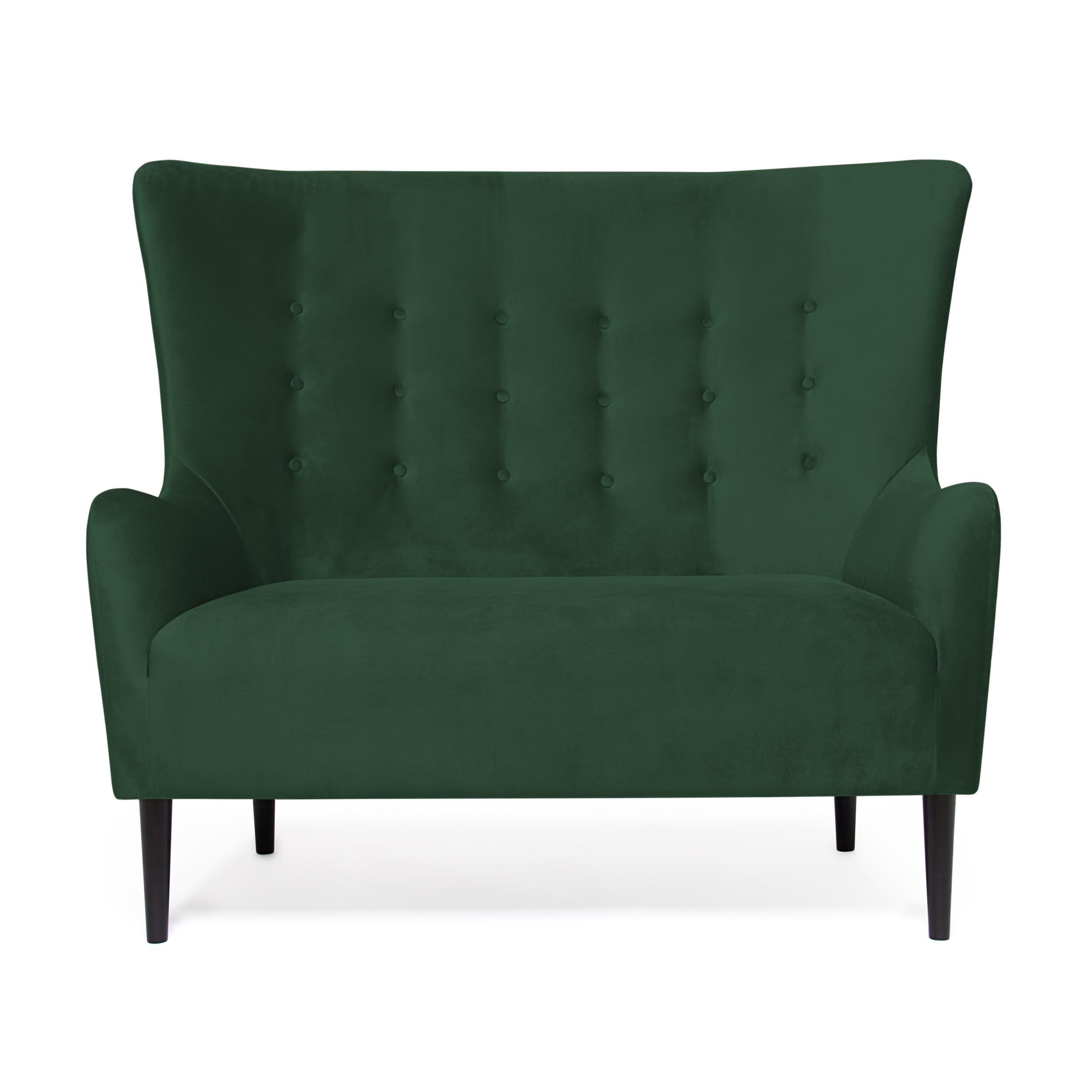 Canapea Fixa 2 locuri Blair Emerald Green