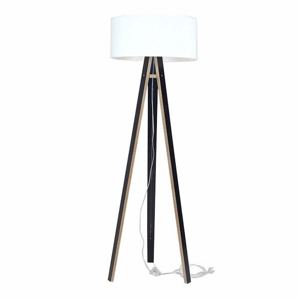 Lampadar Lamp Wanda White Black