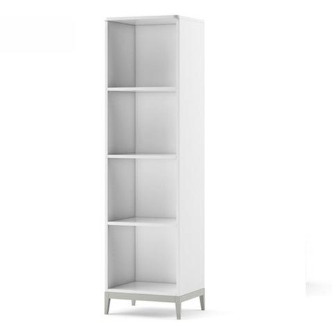 Biblioteca din MDF Elle White / Grey l51xA45xH184 cm