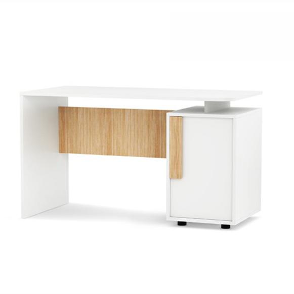 Masa de birou din MDF Click Oak, L125xl60xh74 cm