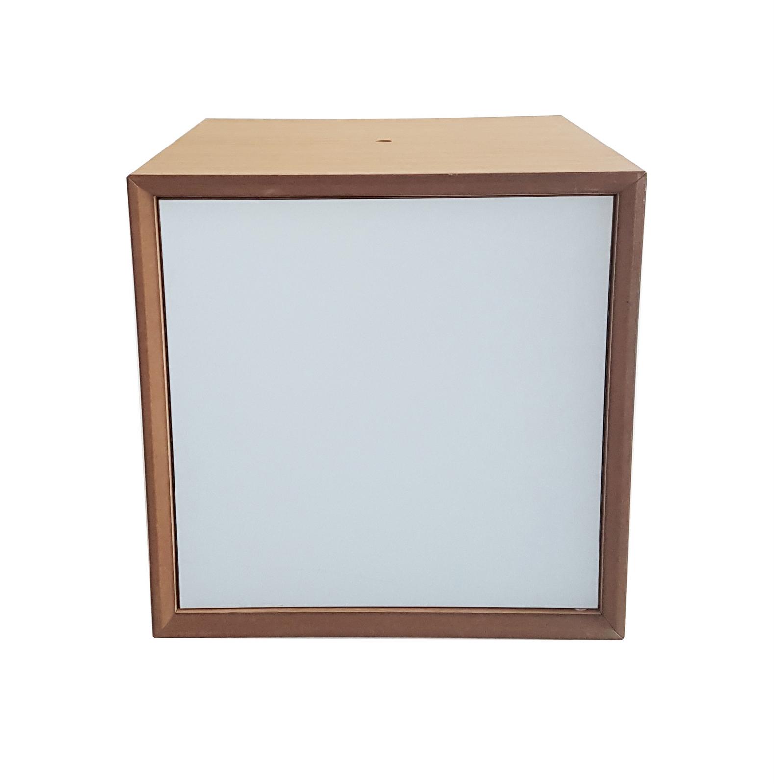 Dulap modular Pixel Light Grey, L40xl40xh40 cm