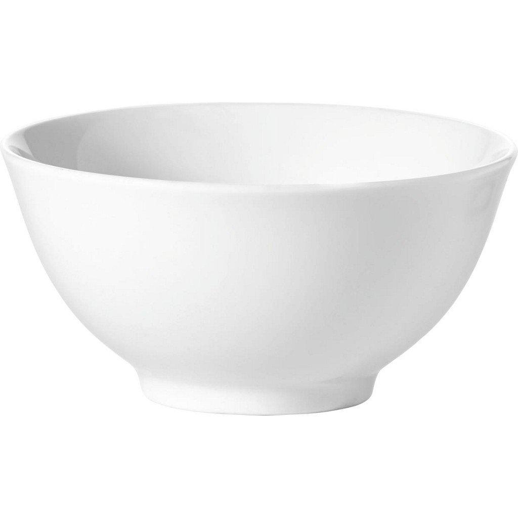 Set 12 Boluri Cashmere Bowl Alb, Portelan, l10 cm