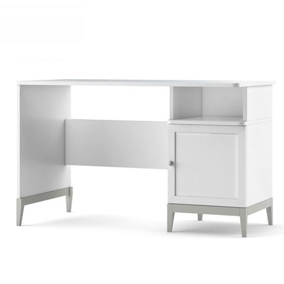 Masa de birou din MDF Elle Grey, L120xl60xh74 cm
