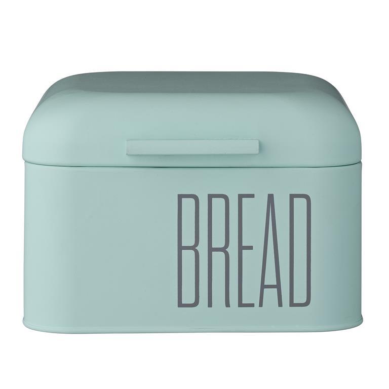 Cutie pentru paine, Verde, Metal, l20xL20xH13,5