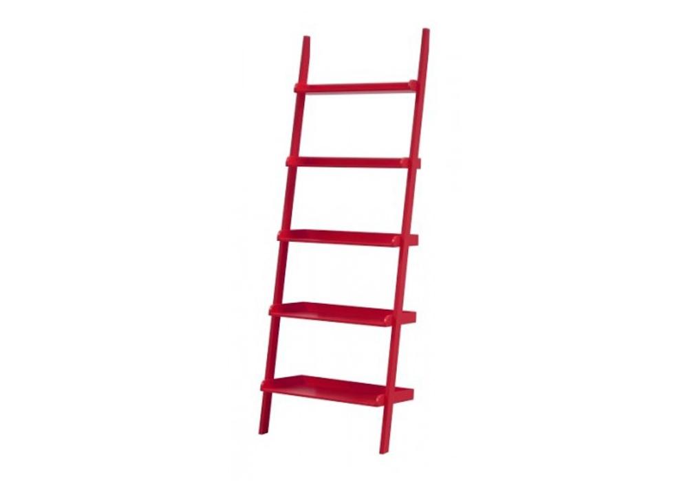 Raft din MDF Wall Red l665xA35xH189 cm